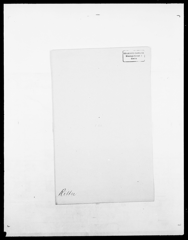 SAO, Delgobe, Charles Antoine - samling, D/Da/L0032: Rabakovsky - Rivertz, s. 821