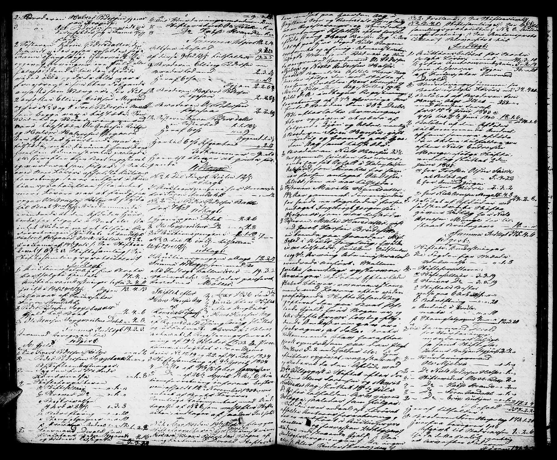 SAT, Romsdal sorenskriveri, 3/3A/L0017: Skifteutlodnings Protokoll 3, 1832-1840, s. 266