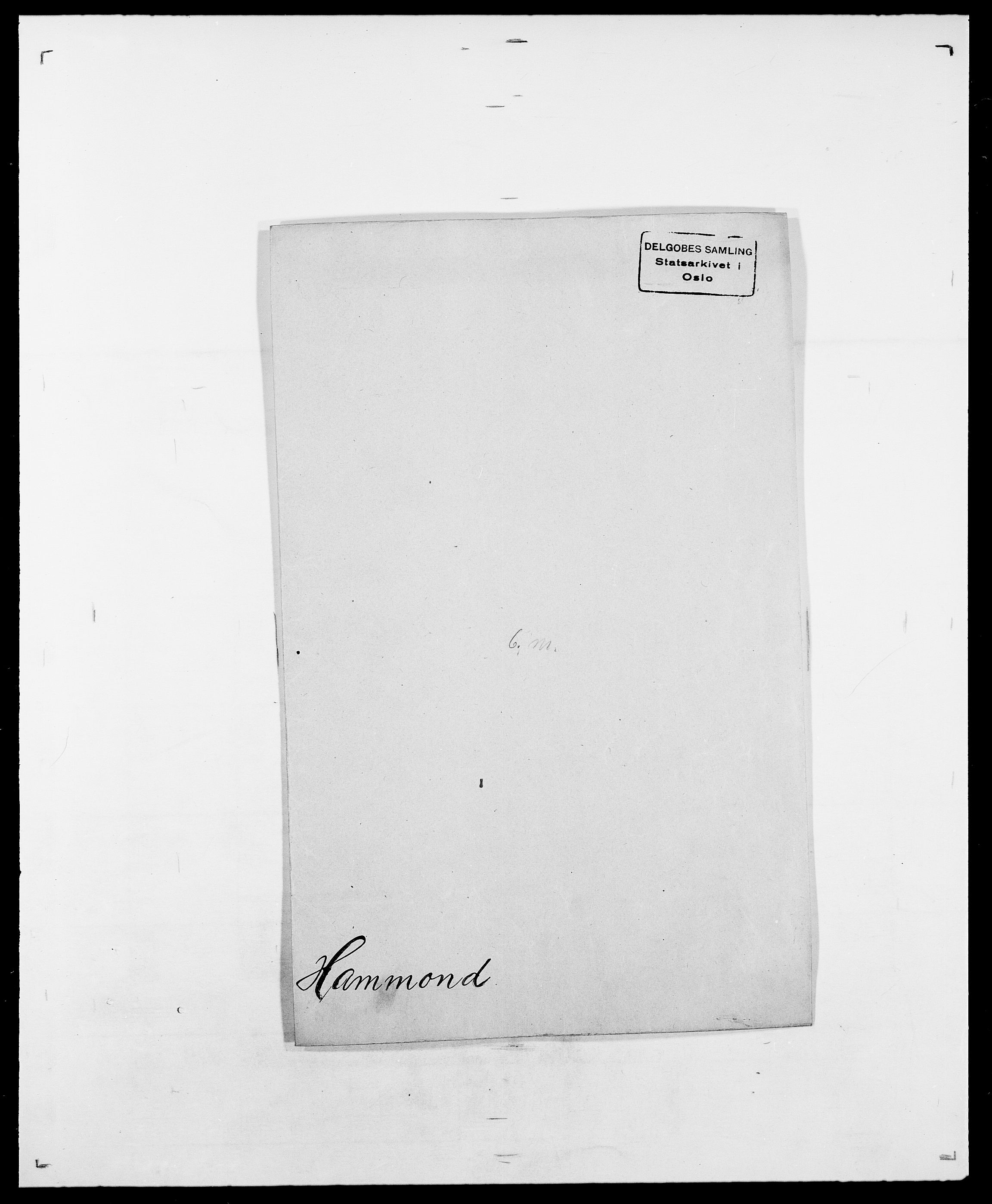 SAO, Delgobe, Charles Antoine - samling, D/Da/L0016: Hamborg - Hektoen, s. 79