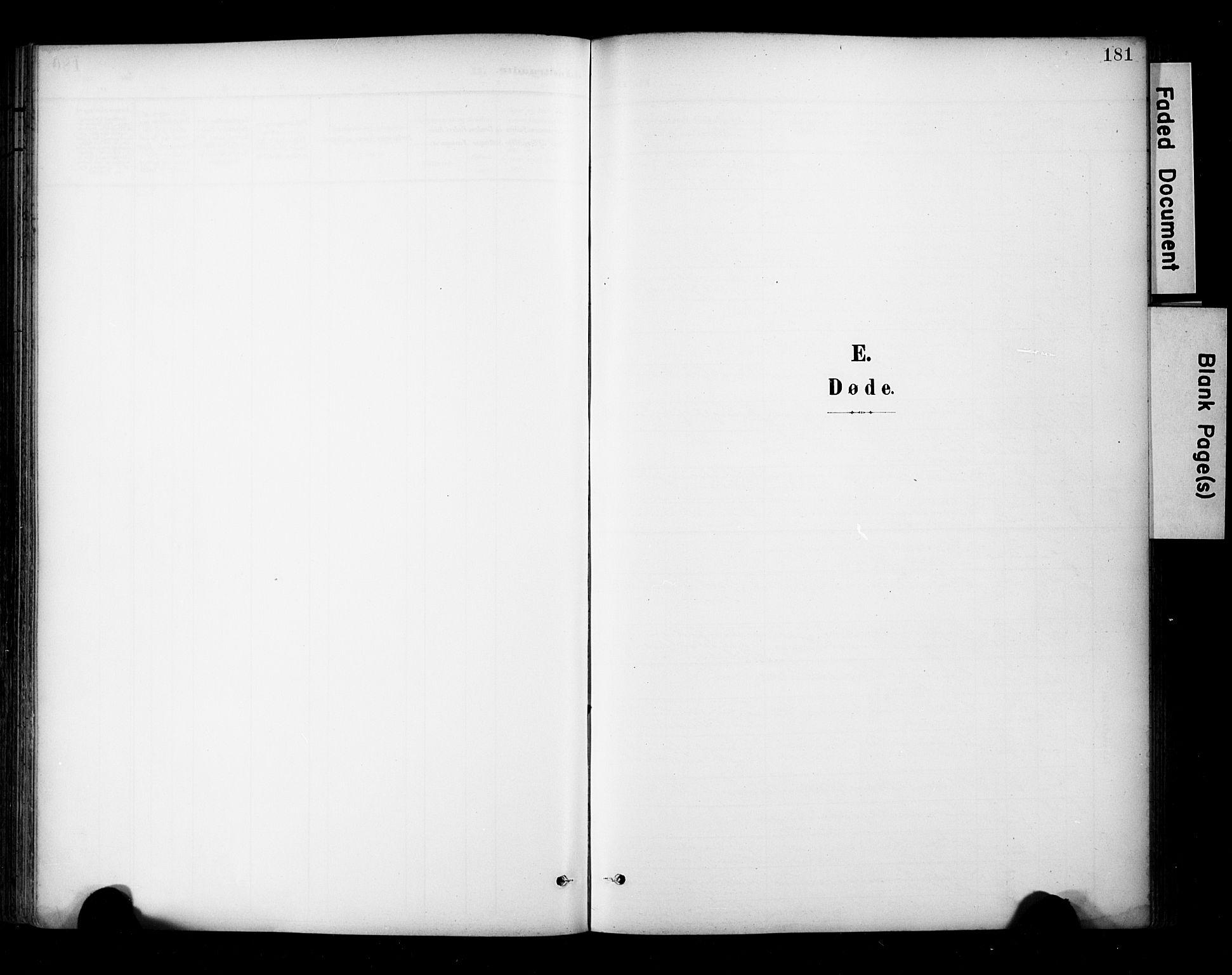 SAT, Ministerialprotokoller, klokkerbøker og fødselsregistre - Sør-Trøndelag, 681/L0936: Ministerialbok nr. 681A14, 1899-1908, s. 181