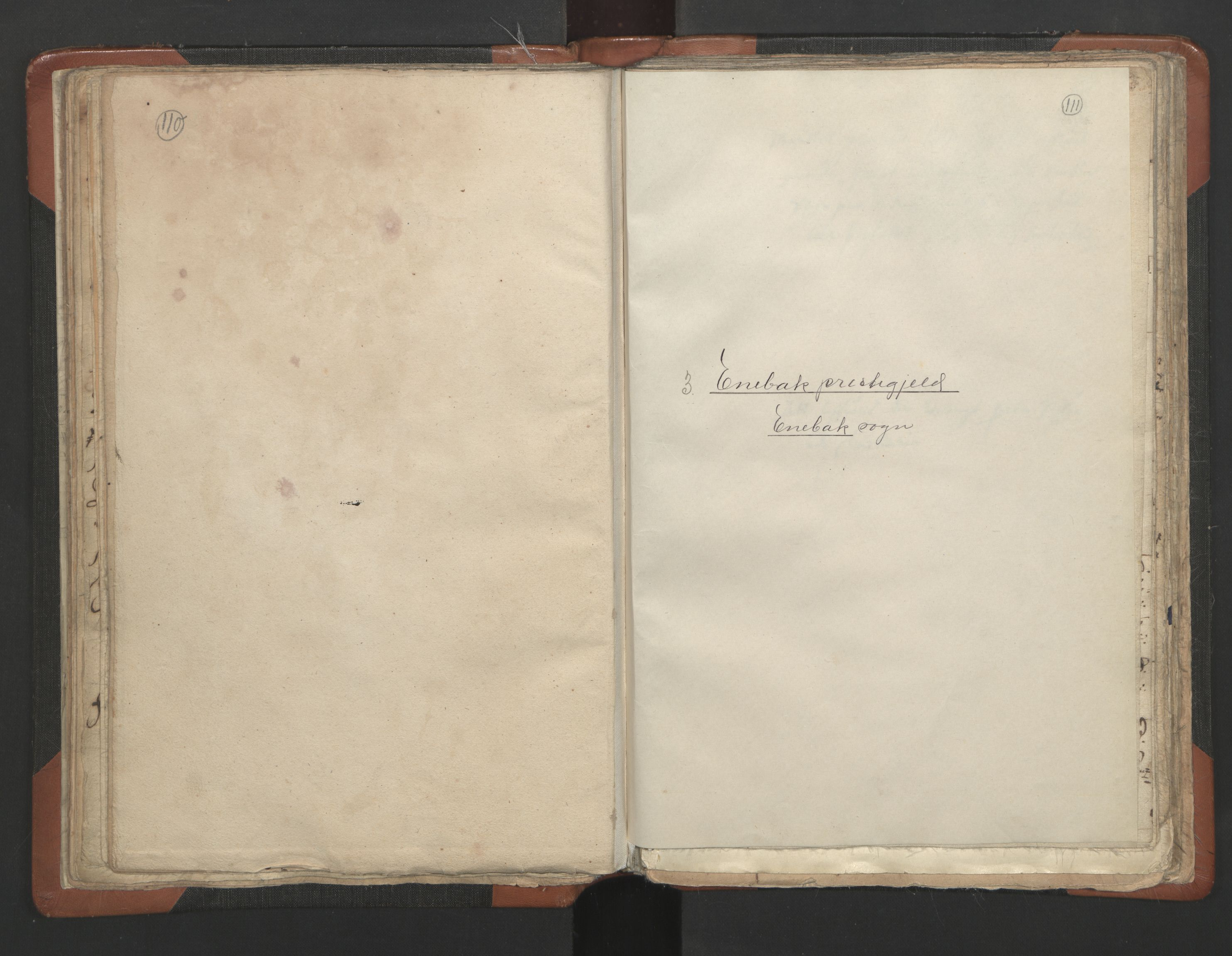 RA, Sogneprestenes manntall 1664-1666, nr. 3: Nedre Romerike prosti, 1664-1666, s. 110-111