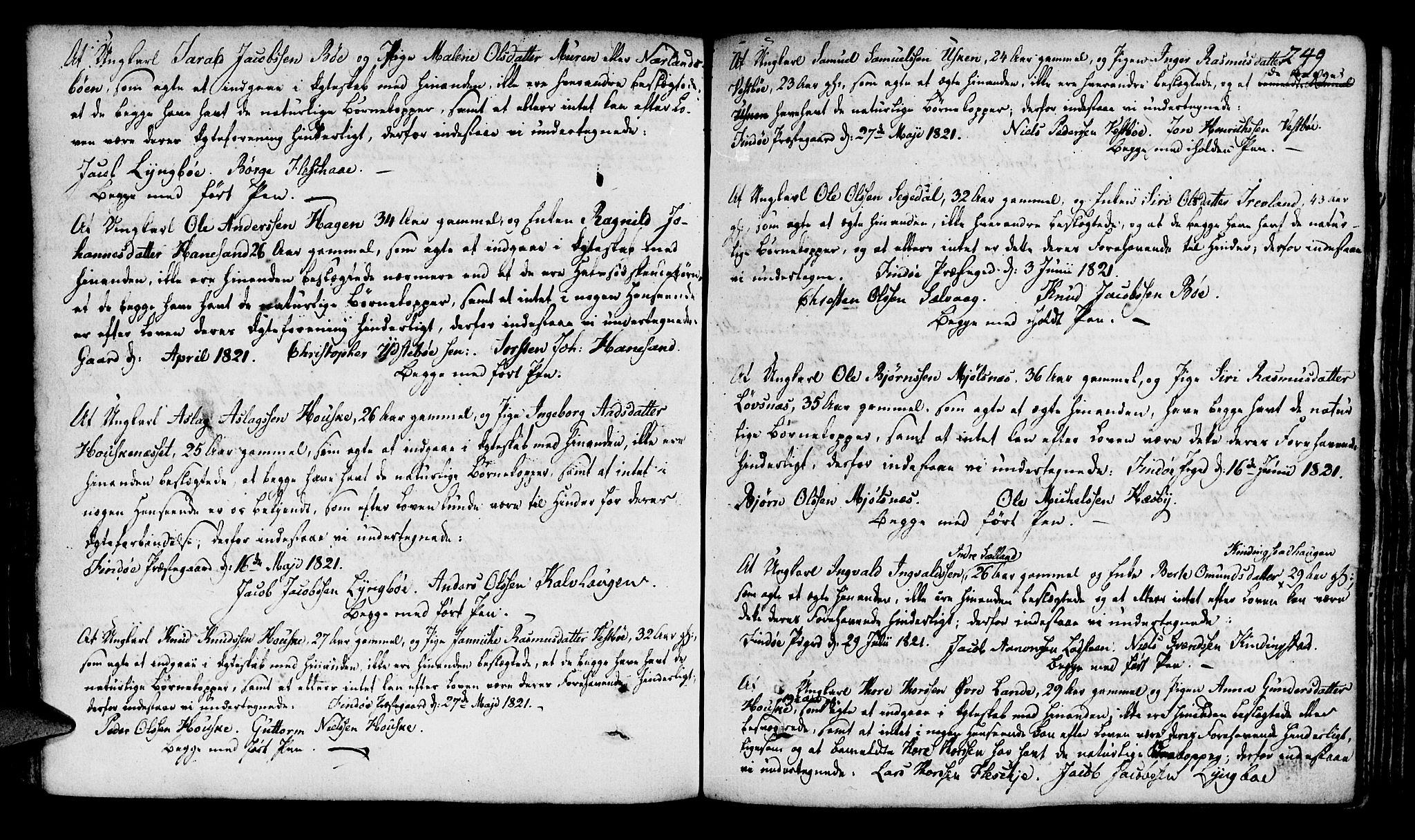 SAST, Finnøy sokneprestkontor, H/Ha/Haa/L0005: Ministerialbok nr. A 5, 1773-1816, s. 249