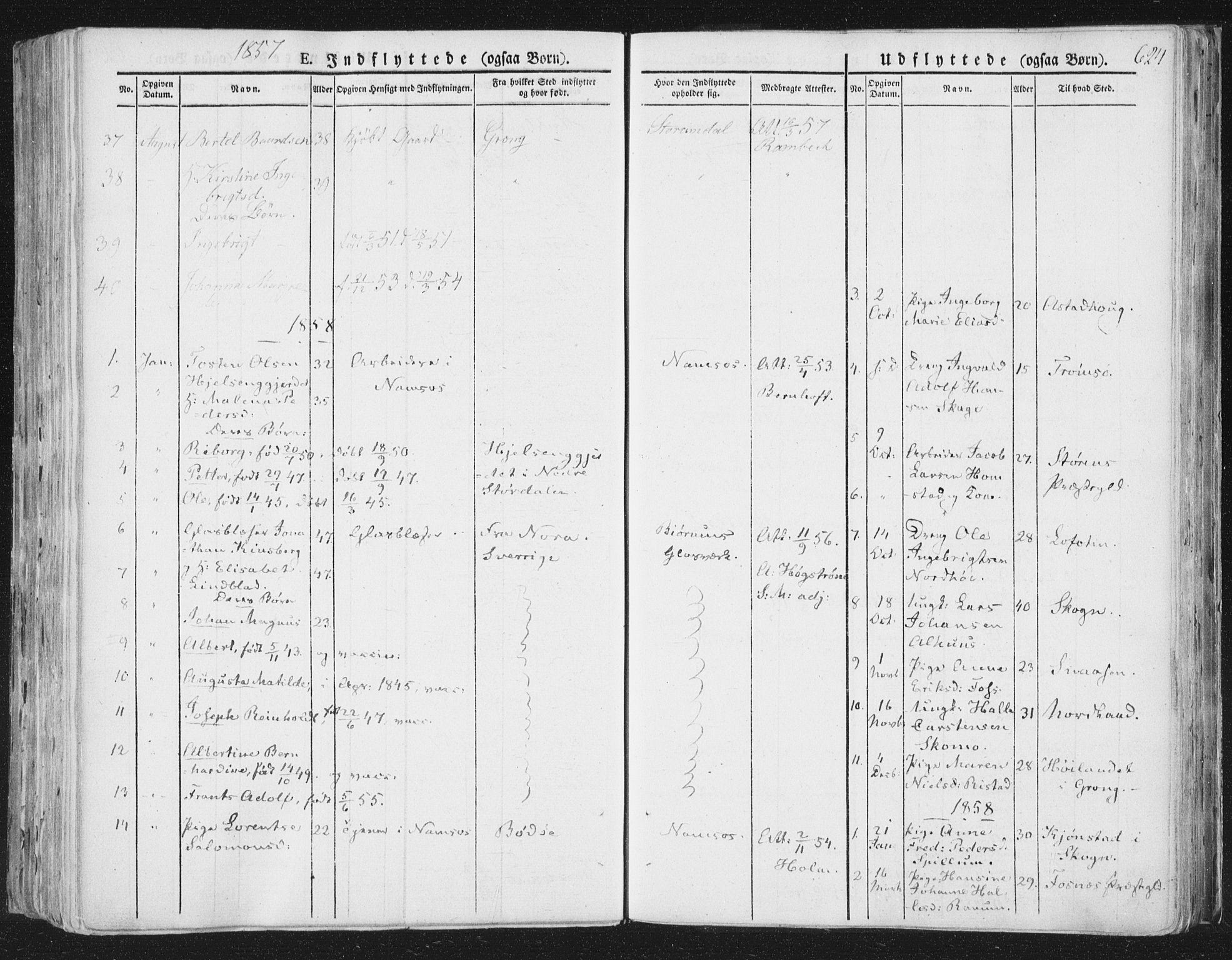 SAT, Ministerialprotokoller, klokkerbøker og fødselsregistre - Nord-Trøndelag, 764/L0552: Ministerialbok nr. 764A07b, 1824-1865, s. 624