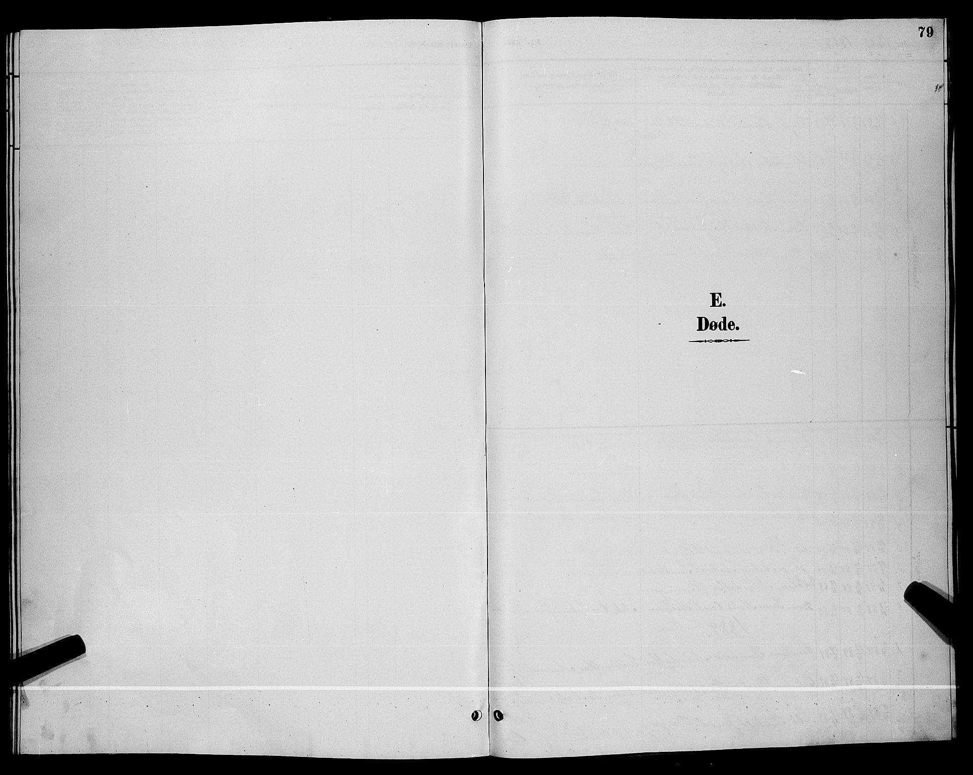 SAKO, Lunde kirkebøker, G/Gb/L0002: Klokkerbok nr. II 2, 1888-1895, s. 79