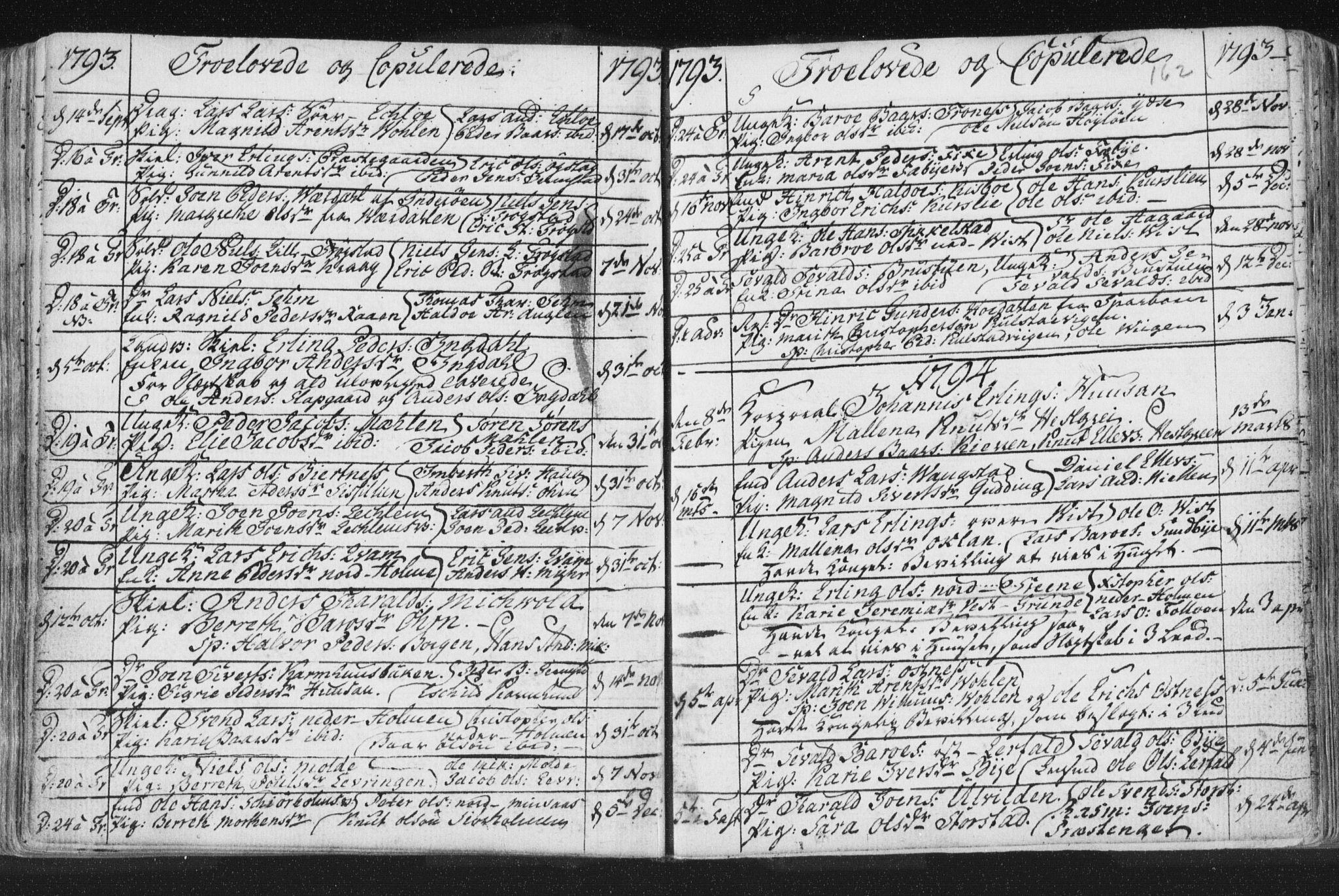 SAT, Ministerialprotokoller, klokkerbøker og fødselsregistre - Nord-Trøndelag, 723/L0232: Ministerialbok nr. 723A03, 1781-1804, s. 162