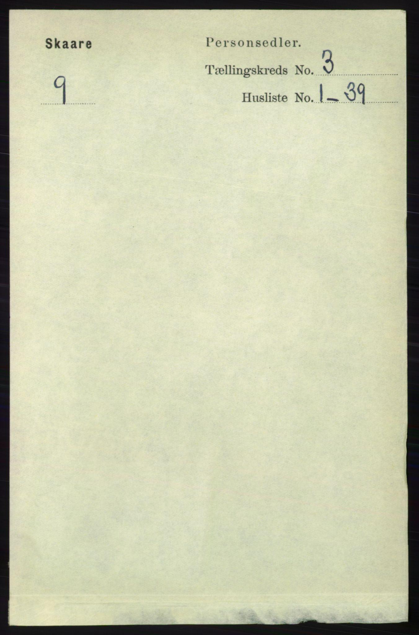 RA, Folketelling 1891 for 1153 Skåre herred, 1891, s. 1114