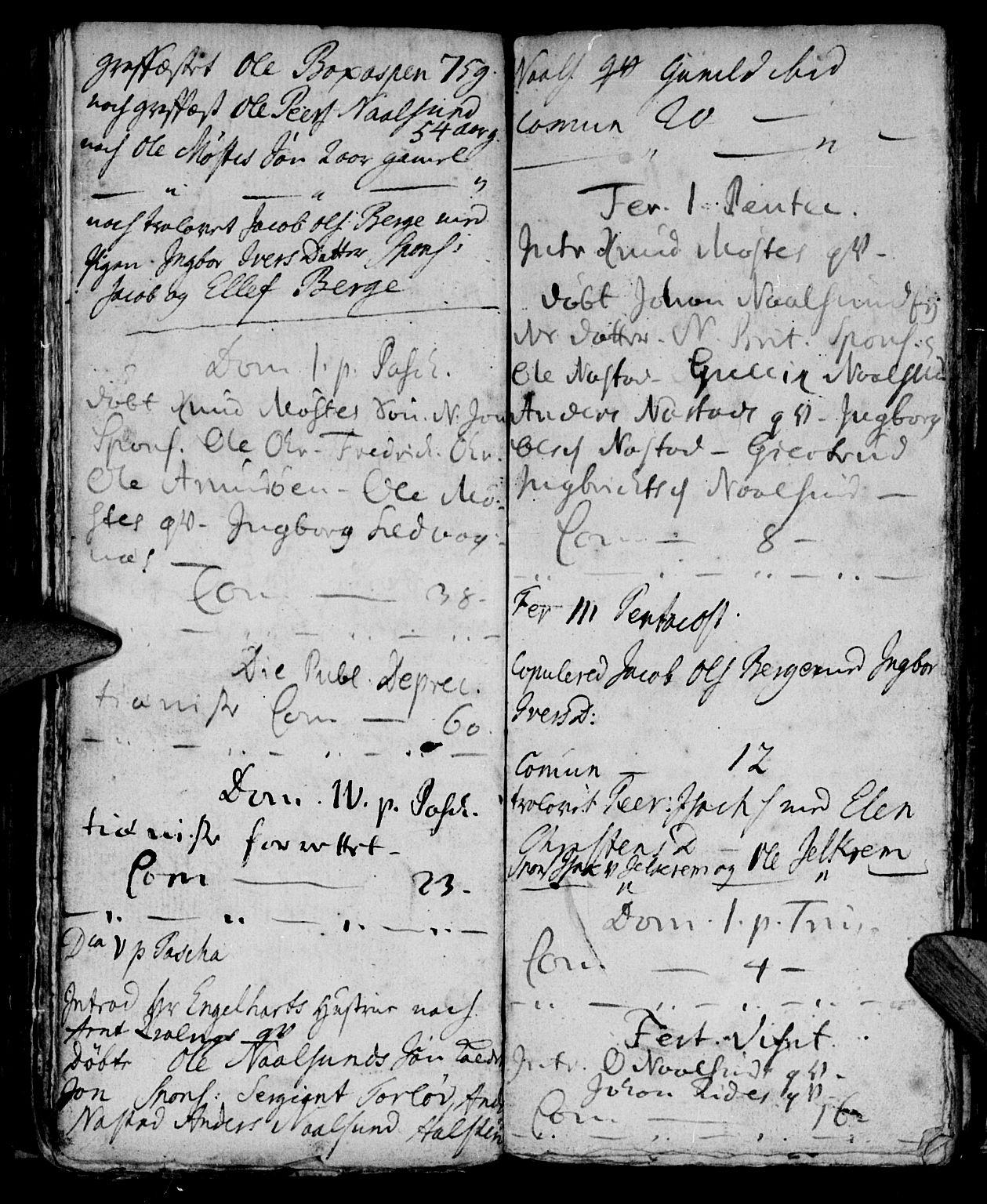SAT, Ministerialprotokoller, klokkerbøker og fødselsregistre - Møre og Romsdal, 573/L0871: Ministerialbok nr. 573A01, 1732-1754