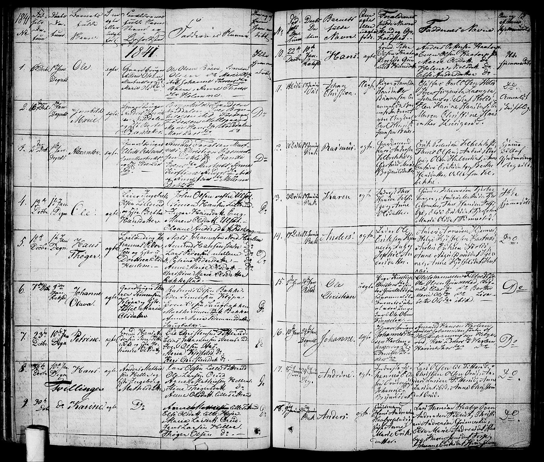 SAO, Rakkestad prestekontor Kirkebøker, F/Fa/L0007: Ministerialbok nr. I 7, 1825-1841, s. 131