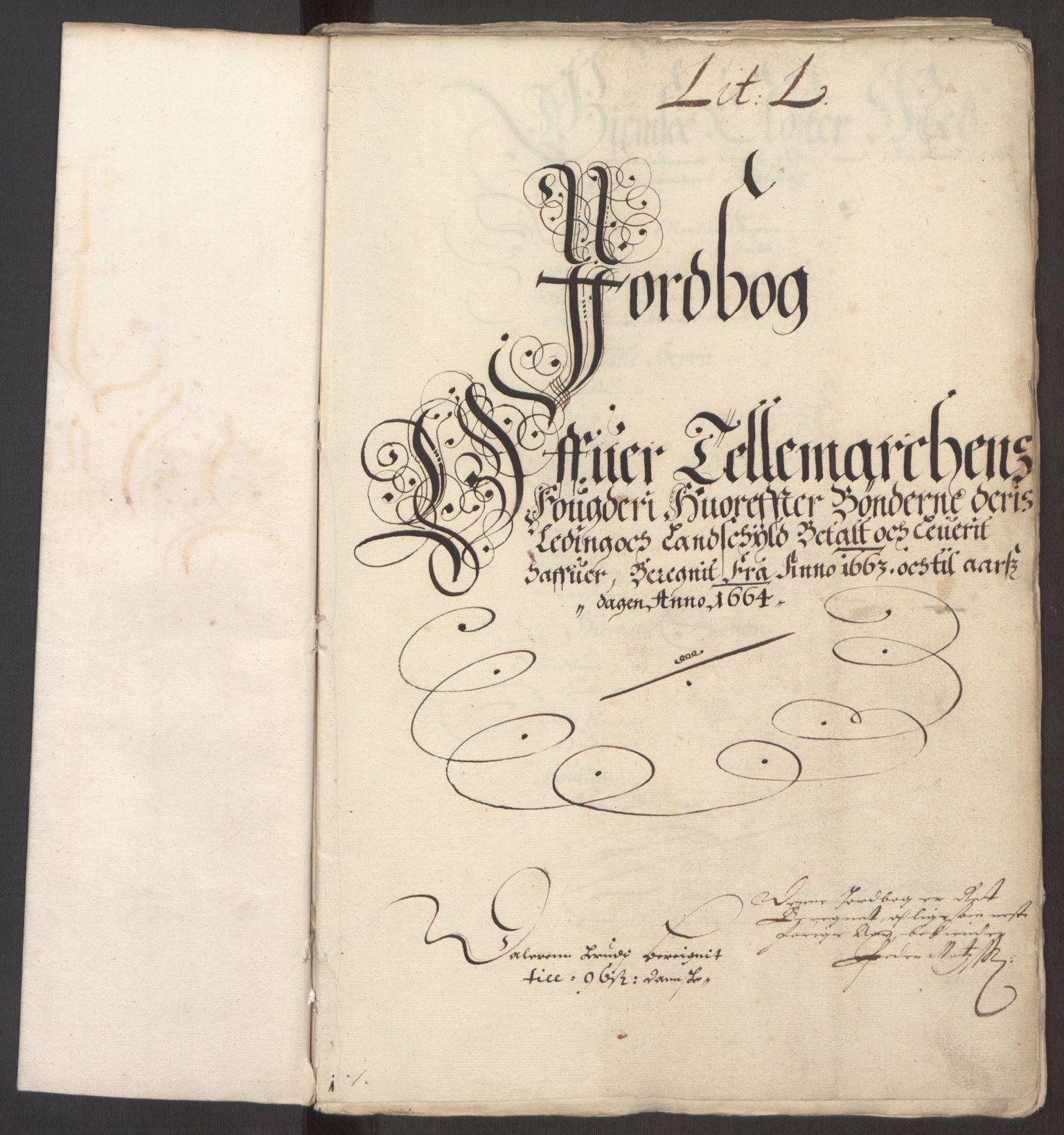 RA, Rentekammeret inntil 1814, Reviderte regnskaper, Fogderegnskap, R35/L2054: Fogderegnskap Øvre og Nedre Telemark, 1662-1663, s. 316