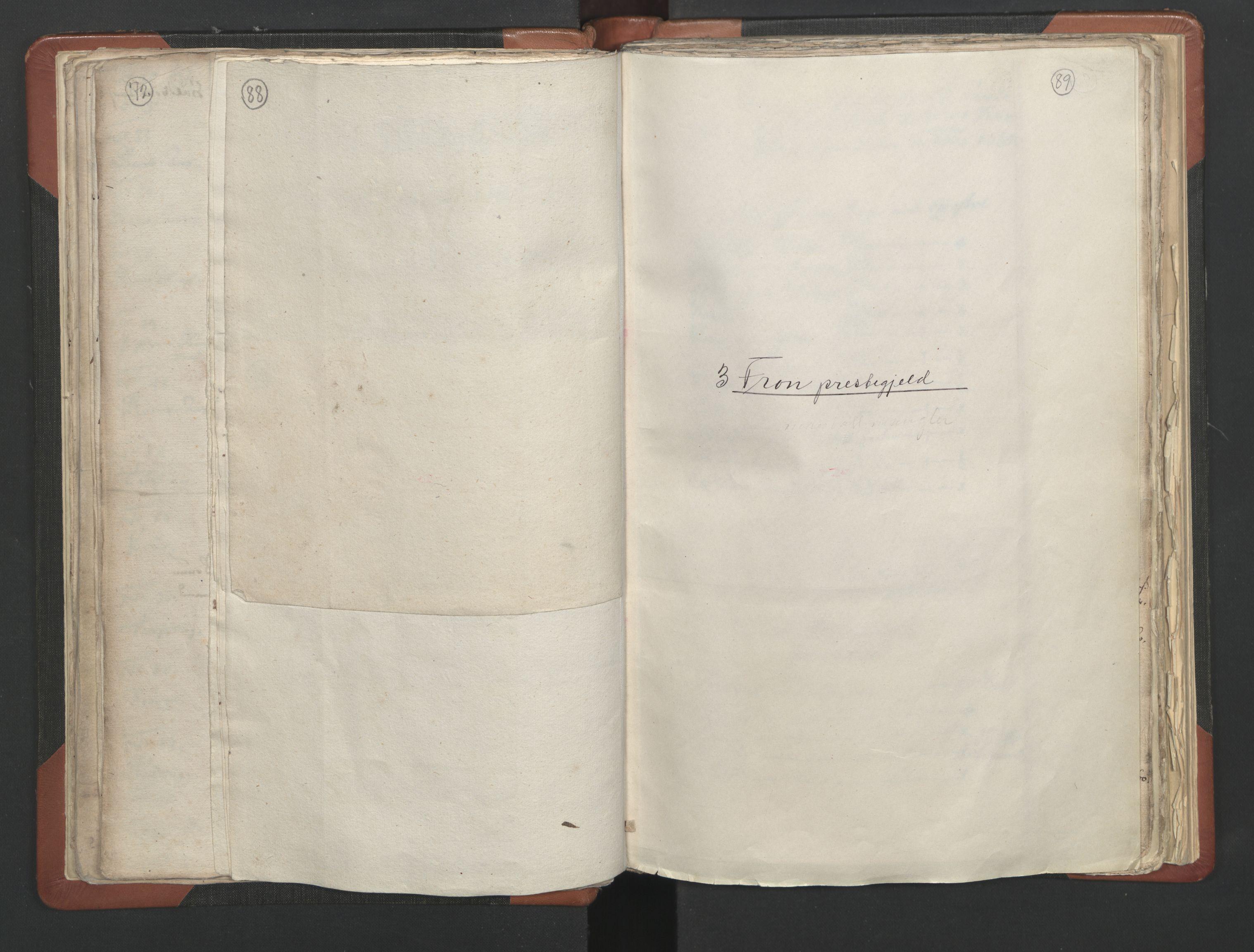 RA, Sogneprestenes manntall 1664-1666, nr. 6: Gudbrandsdal prosti, 1664-1666, s. 88-89