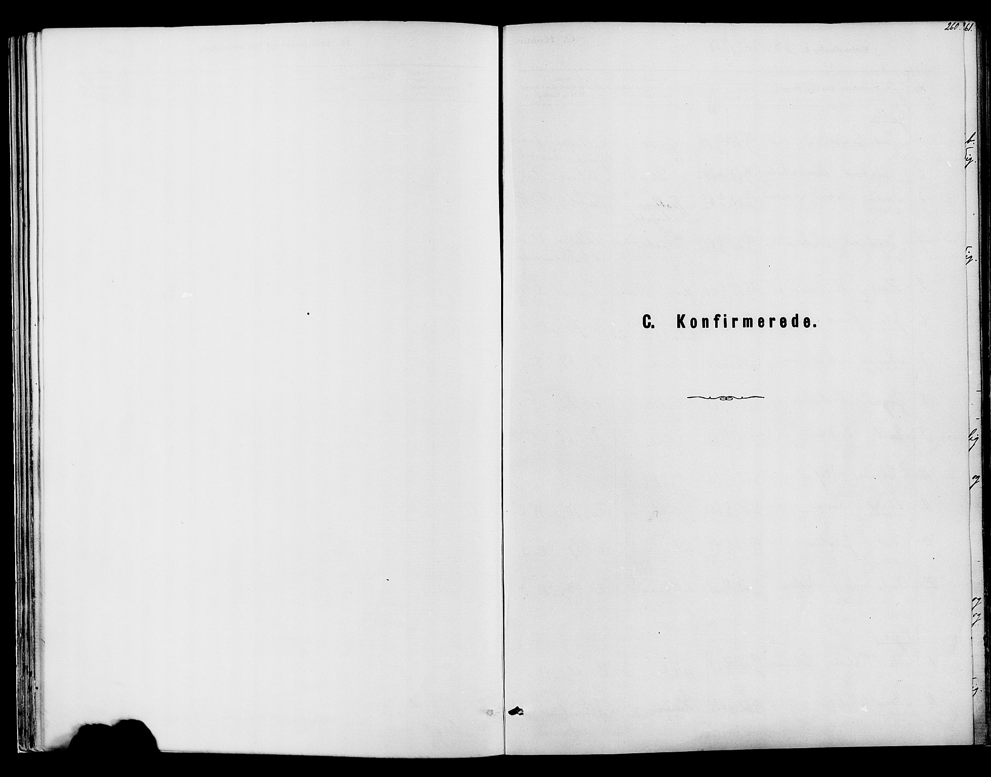 SAH, Vardal prestekontor, H/Ha/Haa/L0008: Ministerialbok nr. 8, 1878-1890, s. 260
