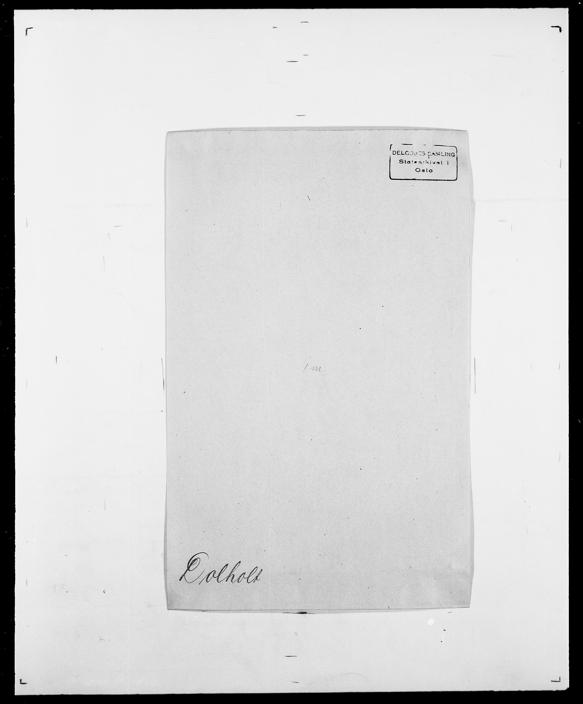 SAO, Delgobe, Charles Antoine - samling, D/Da/L0009: Dahl - v. Düren, s. 639