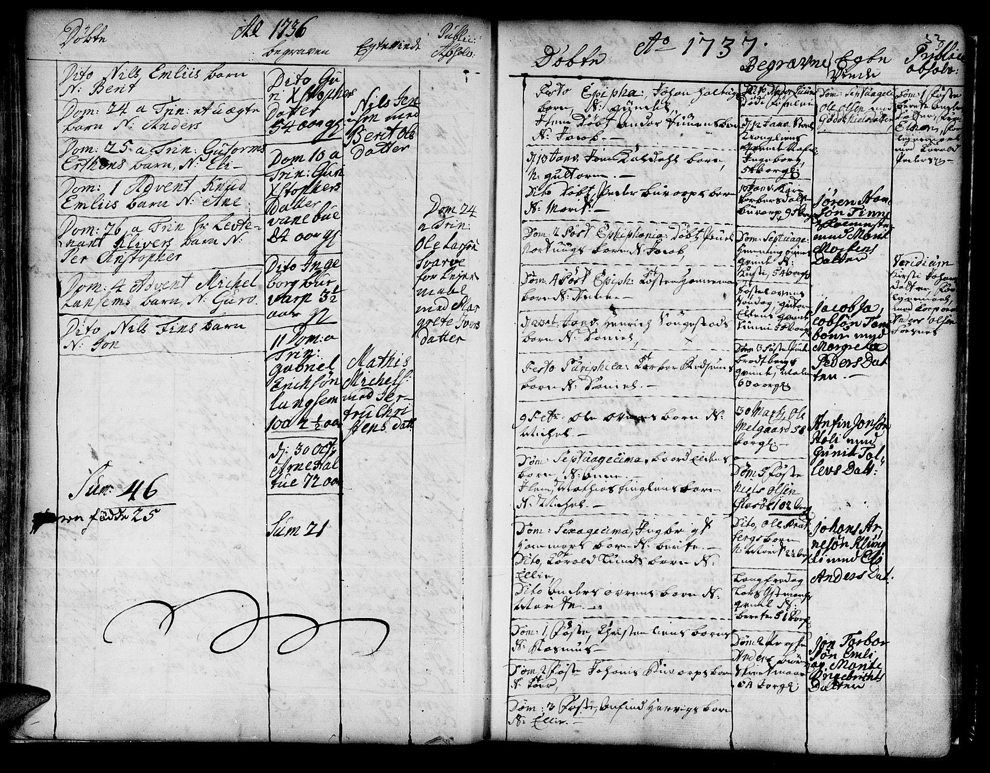 SAT, Ministerialprotokoller, klokkerbøker og fødselsregistre - Nord-Trøndelag, 741/L0385: Ministerialbok nr. 741A01, 1722-1815, s. 32b
