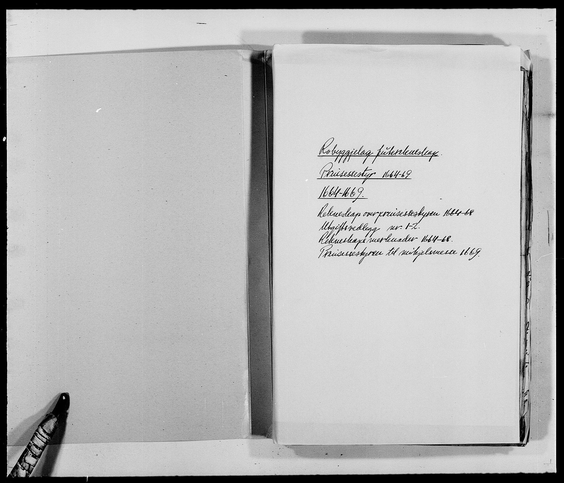 RA, Rentekammeret inntil 1814, Reviderte regnskaper, Fogderegnskap, R40/L2432: Fogderegnskap Råbyggelag, 1669-1670, s. 2