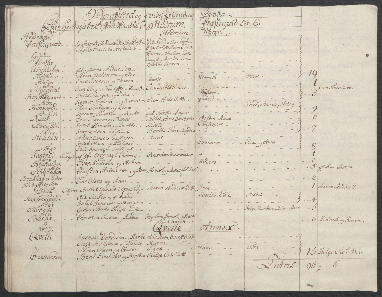 RA, Rentekammeret inntil 1814, Reviderte regnskaper, Fogderegnskap, R33/L2033: Ekstraskatten Larvik grevskap, 1762-1764, s. 535
