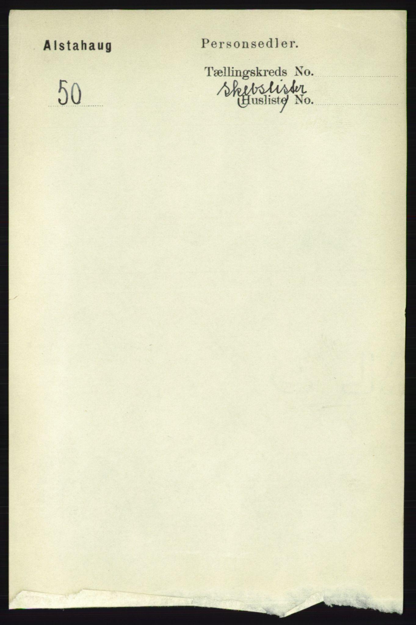 RA, Folketelling 1891 for 1820 Alstahaug herred, 1891, s. 5251