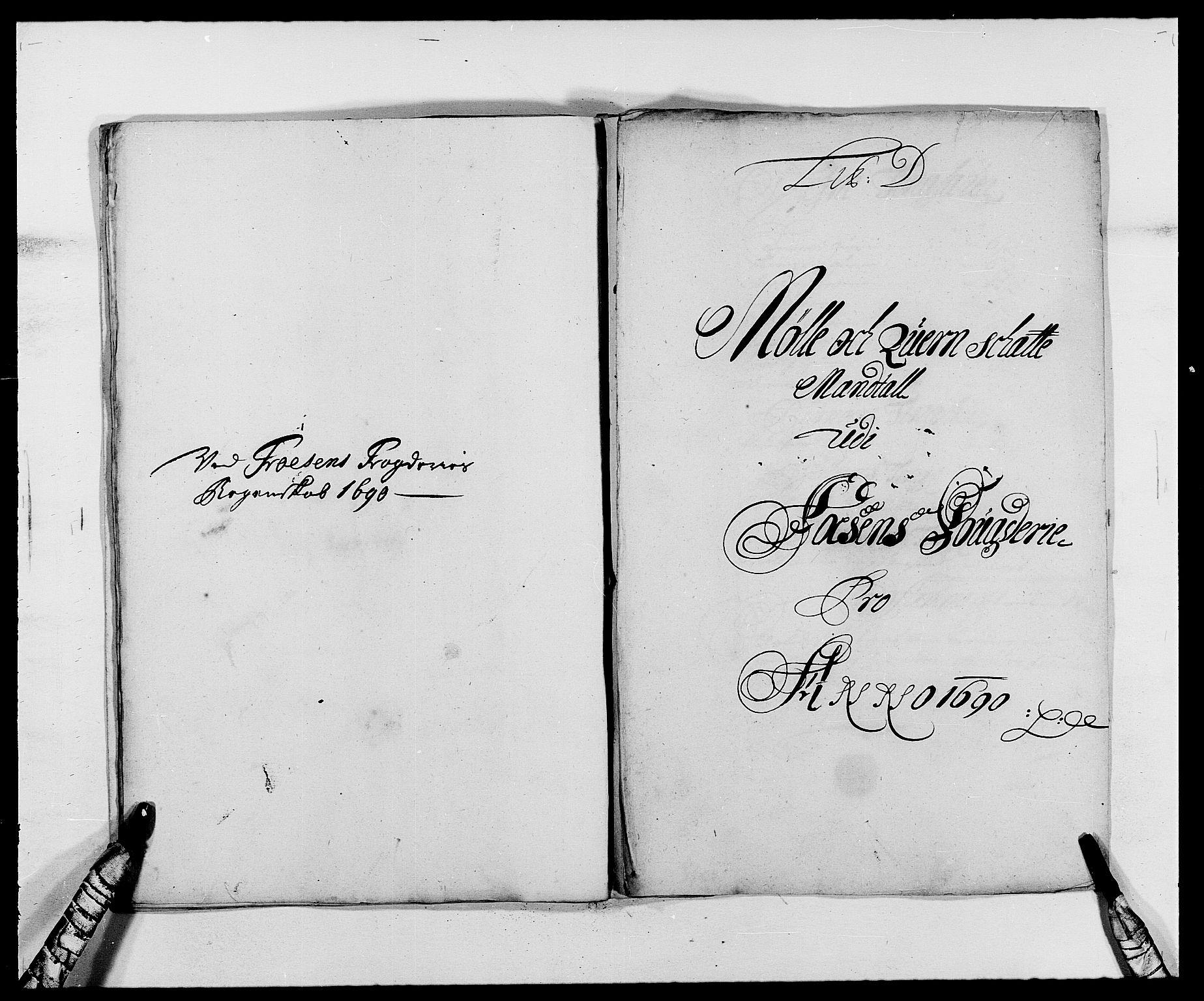 RA, Rentekammeret inntil 1814, Reviderte regnskaper, Fogderegnskap, R57/L3848: Fogderegnskap Fosen, 1690-1691, s. 78