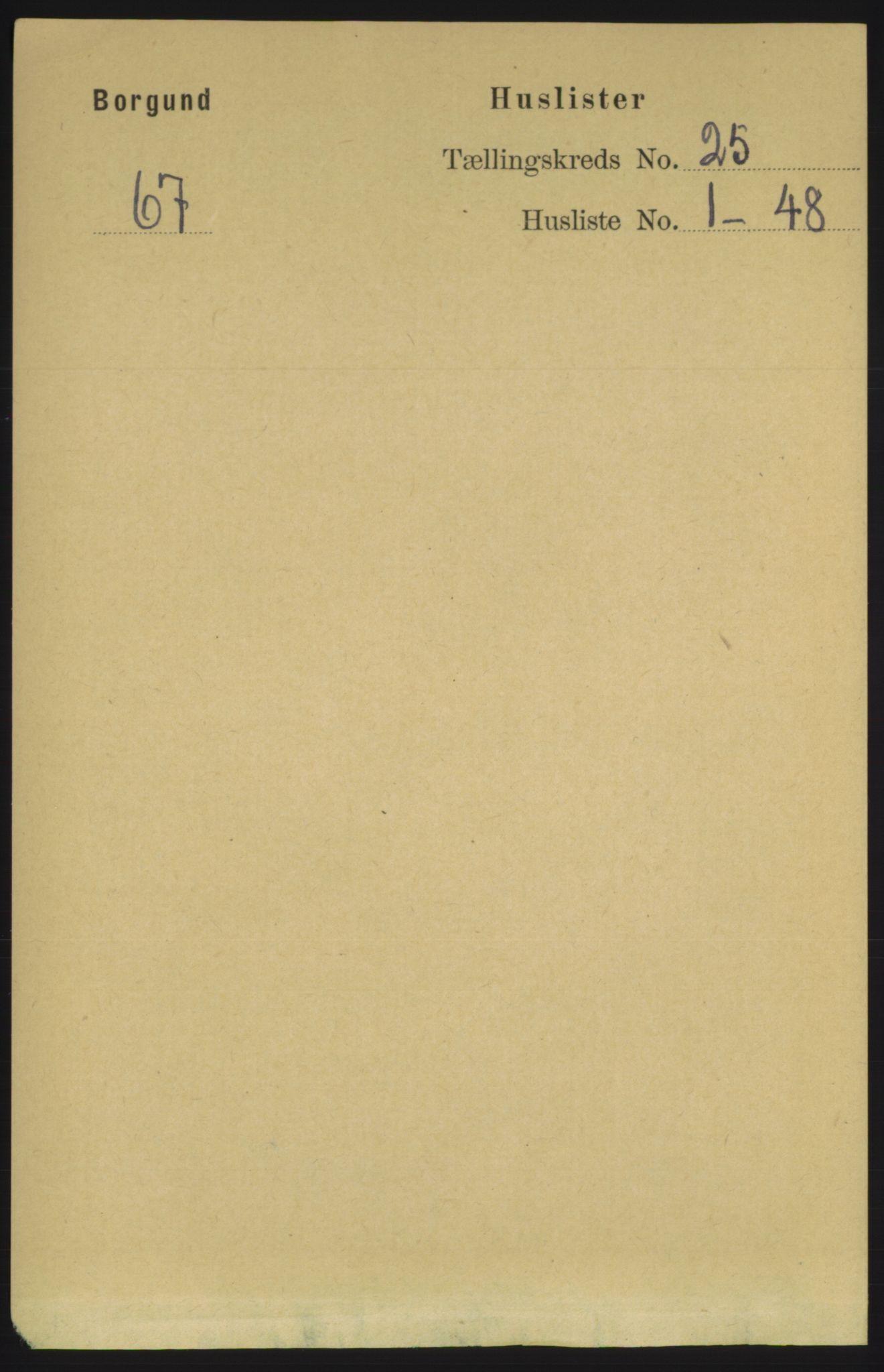 RA, Folketelling 1891 for 1531 Borgund herred, 1891, s. 7206