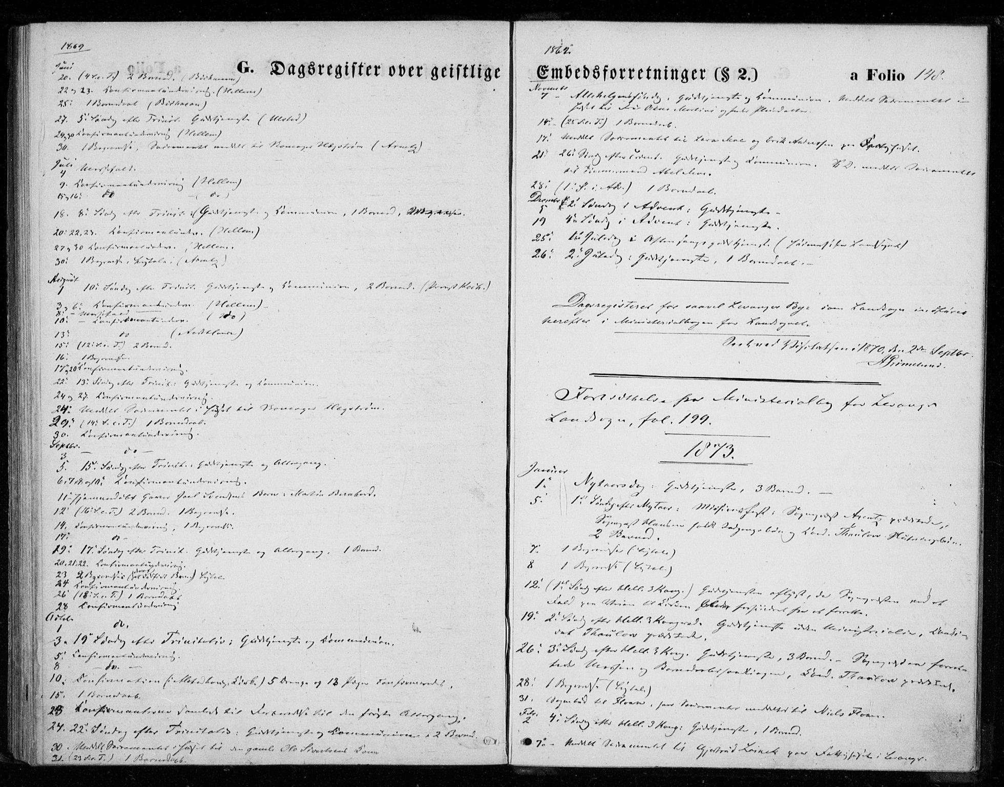 SAT, Ministerialprotokoller, klokkerbøker og fødselsregistre - Nord-Trøndelag, 720/L0186: Ministerialbok nr. 720A03, 1864-1874, s. 148