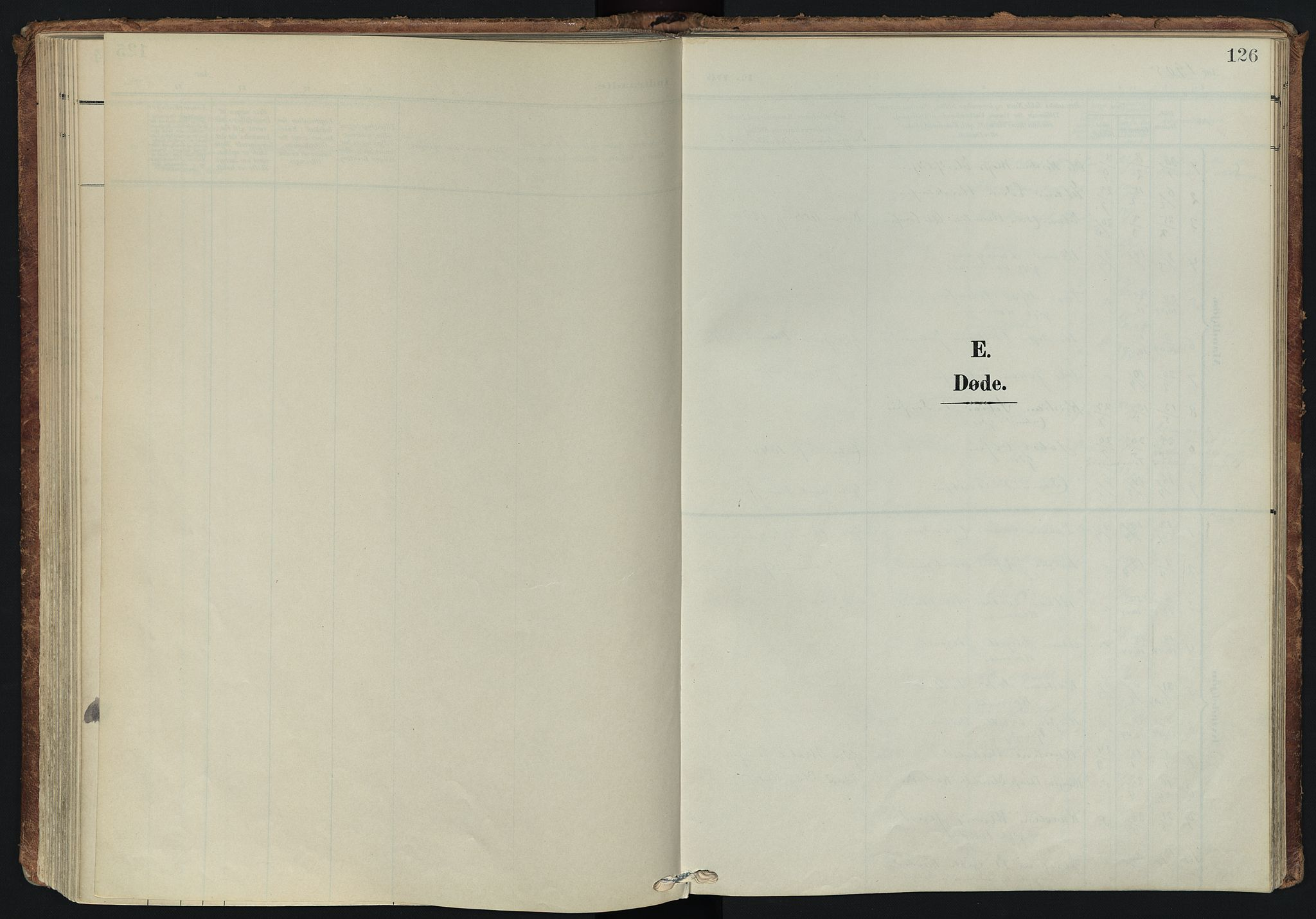 SATØ, Tranøy sokneprestkontor, I/Ia/Iaa/L0014kirke: Ministerialbok nr. 14, 1905-1919, s. 126