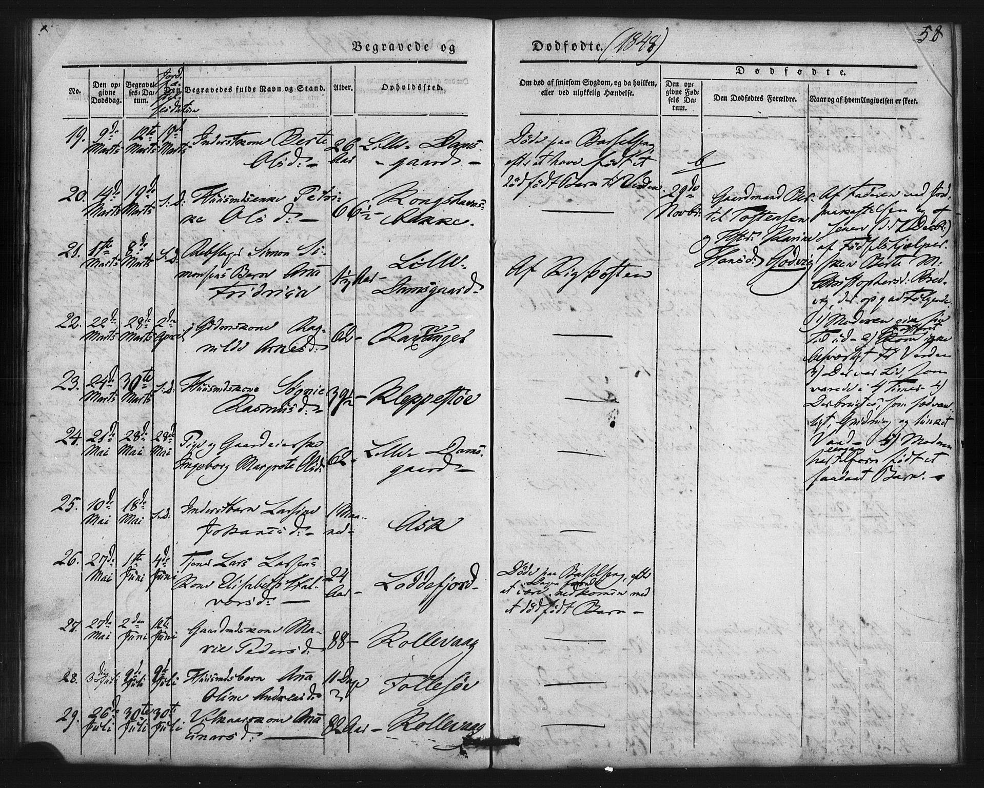 SAB, Askøy Sokneprestembete, H/Ha/Haa/Haaa/L0007: Ministerialbok nr. A 7, 1842-1852, s. 58