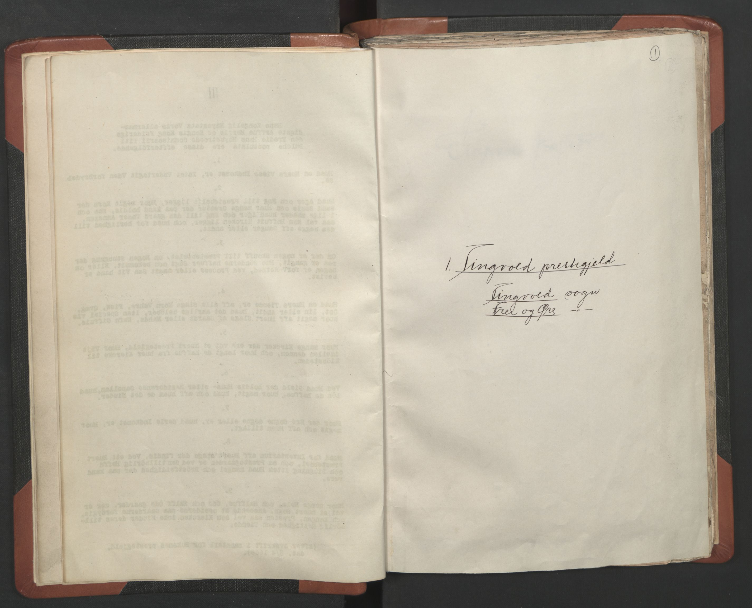 RA, Sogneprestenes manntall 1664-1666, nr. 28: Nordmøre prosti, 1664-1666, s. 1