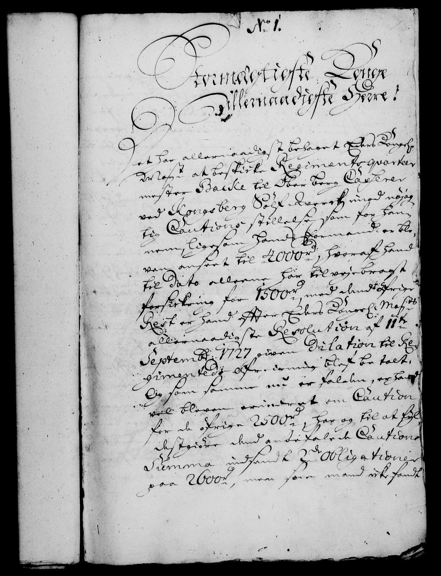 RA, Rentekammeret, Kammerkanselliet, G/Gf/Gfa/L0013: Norsk relasjons- og resolusjonsprotokoll (merket RK 52.13), 1730, s. 27