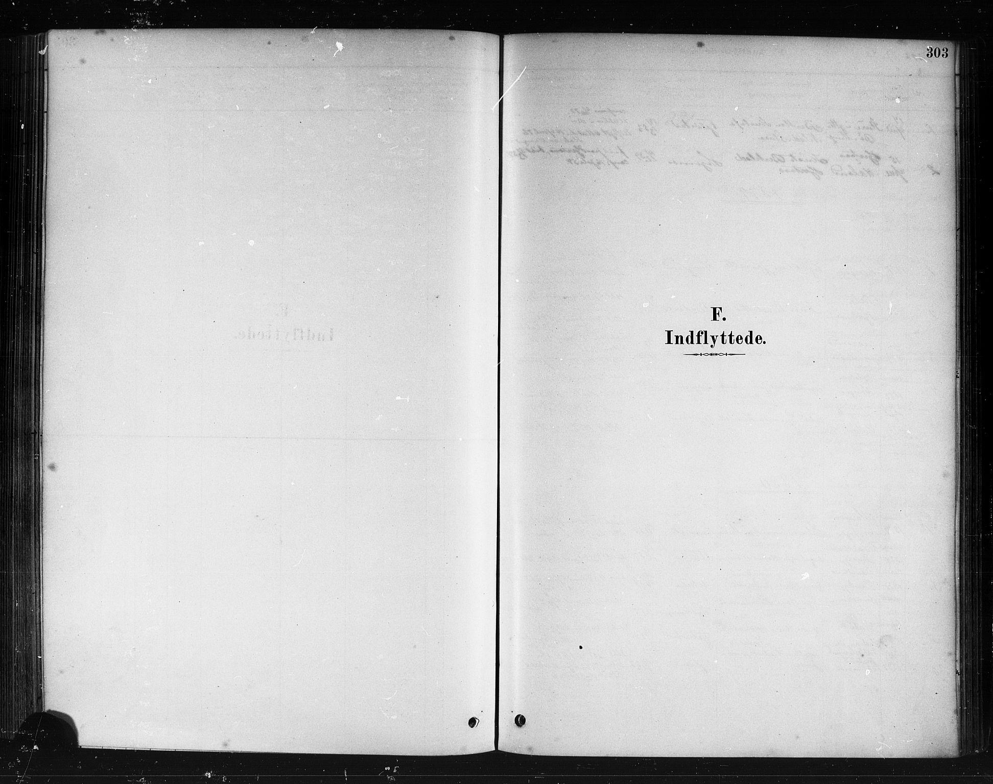 SAB, Herdla Sokneprestembete, H/Haa: Ministerialbok nr. A 3, 1878-1890, s. 303