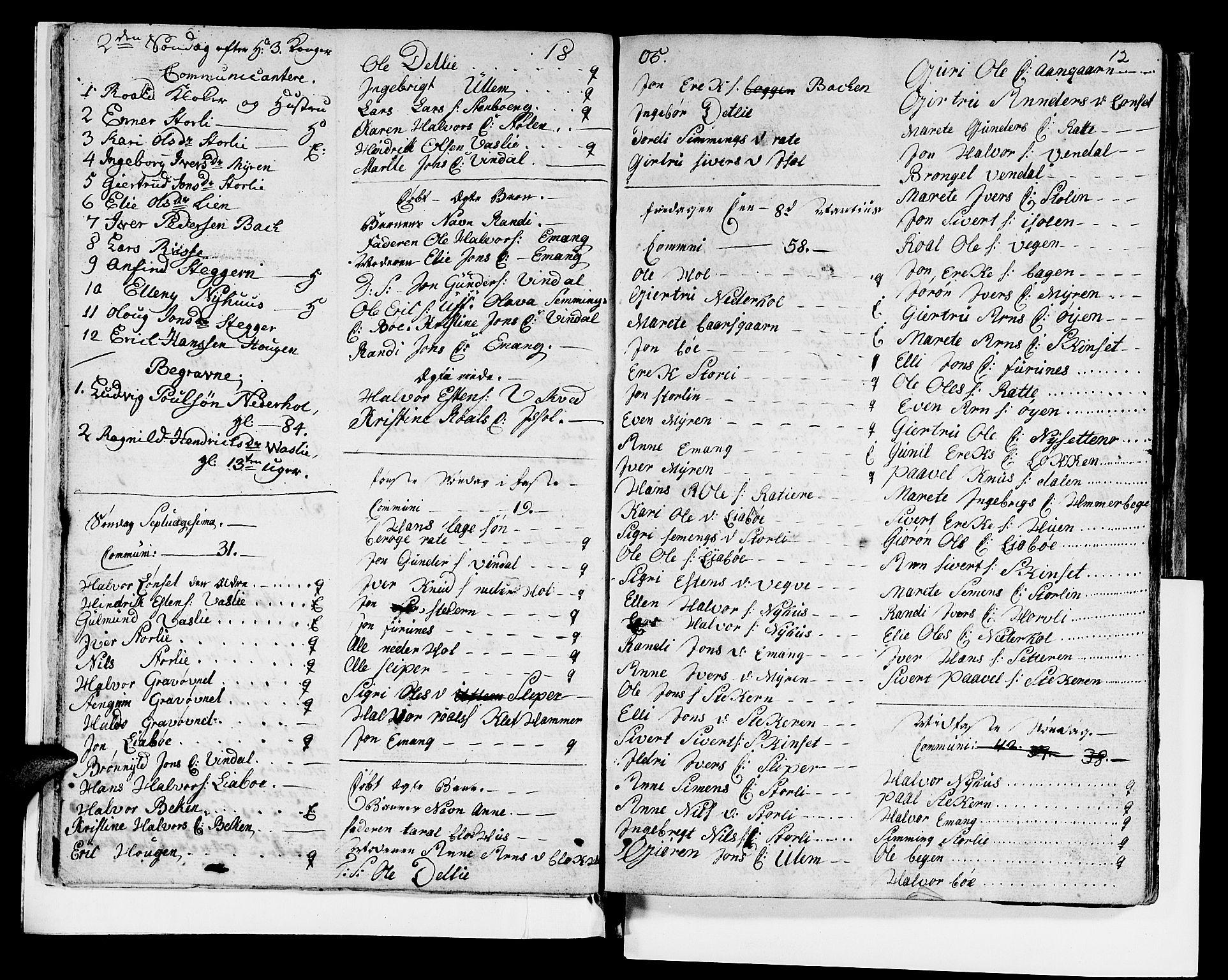 SAT, Ministerialprotokoller, klokkerbøker og fødselsregistre - Sør-Trøndelag, 679/L0921: Klokkerbok nr. 679C01, 1792-1840, s. 12
