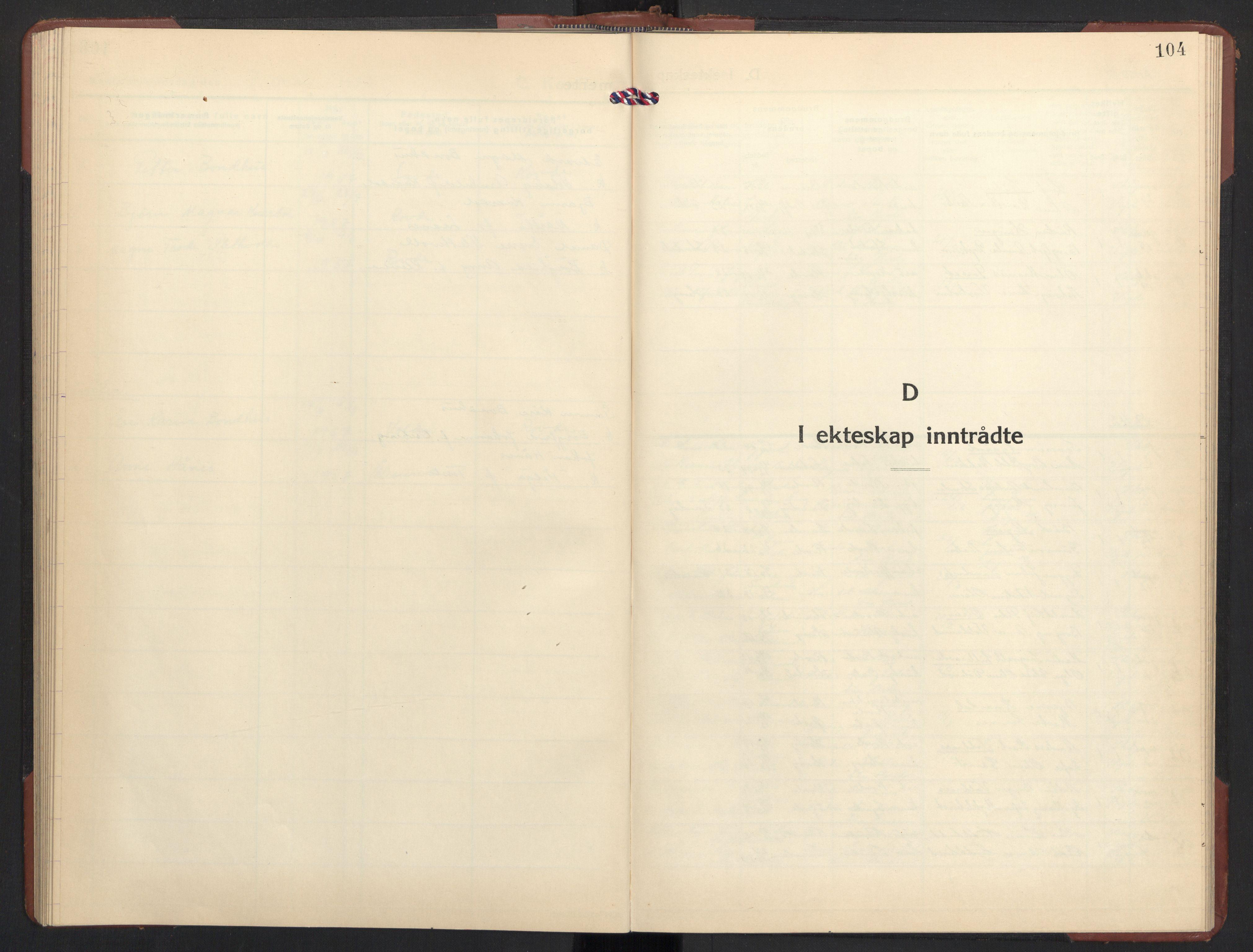 SAT, Ministerialprotokoller, klokkerbøker og fødselsregistre - Møre og Romsdal, 504/L0063: Klokkerbok nr. 504C05, 1939-1972, s. 104