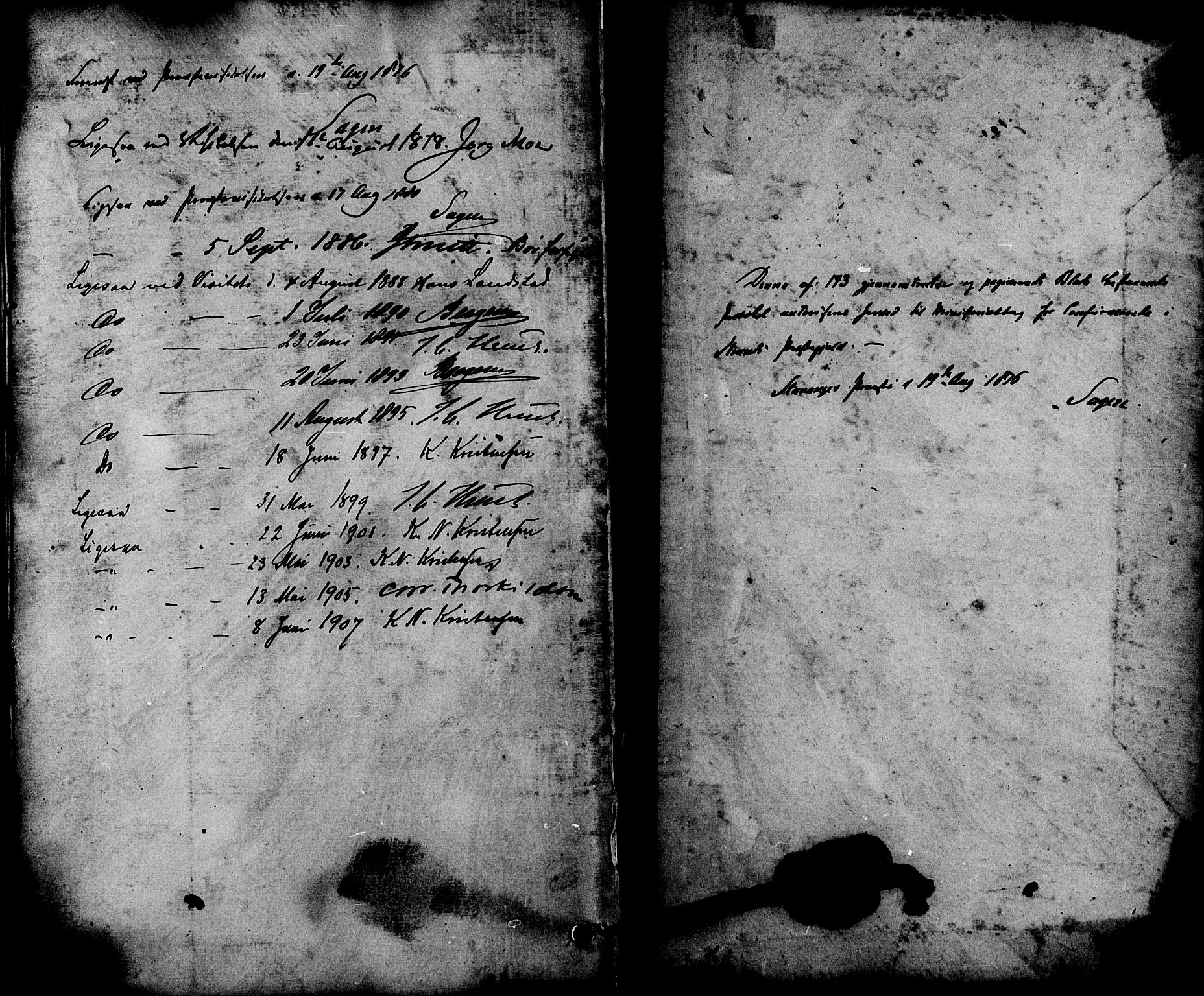 SAST, Strand sokneprestkontor, H/Ha/Haa/L0008: Ministerialbok nr. A 8, 1874-1907, s. 140