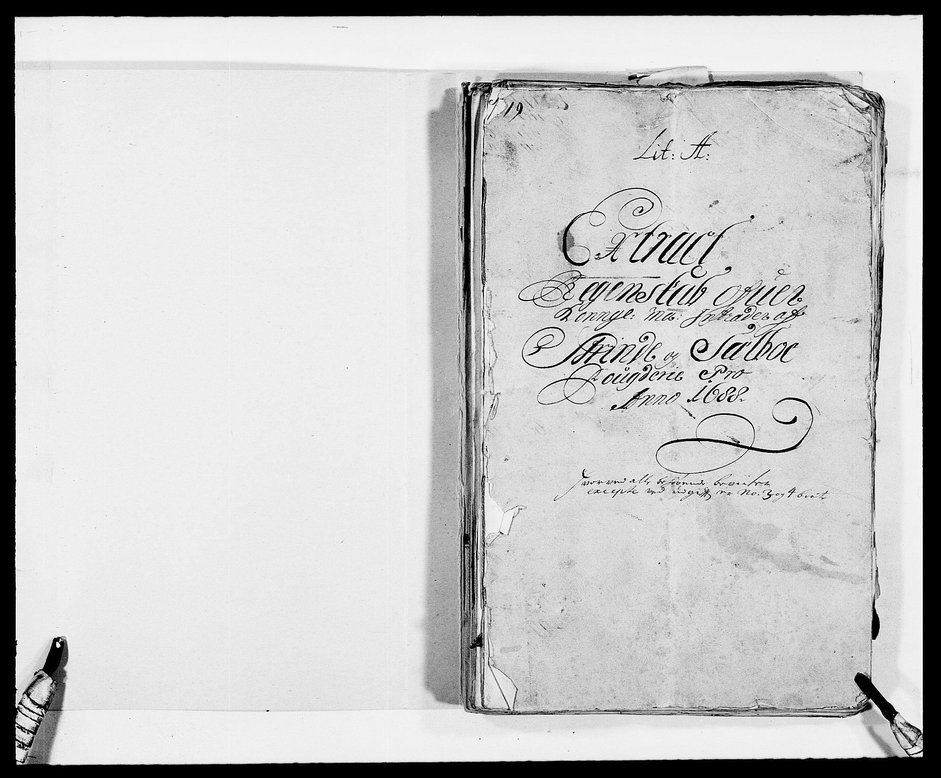 RA, Rentekammeret inntil 1814, Reviderte regnskaper, Fogderegnskap, R61/L4101: Fogderegnskap Strinda og Selbu, 1687-1688, s. 158