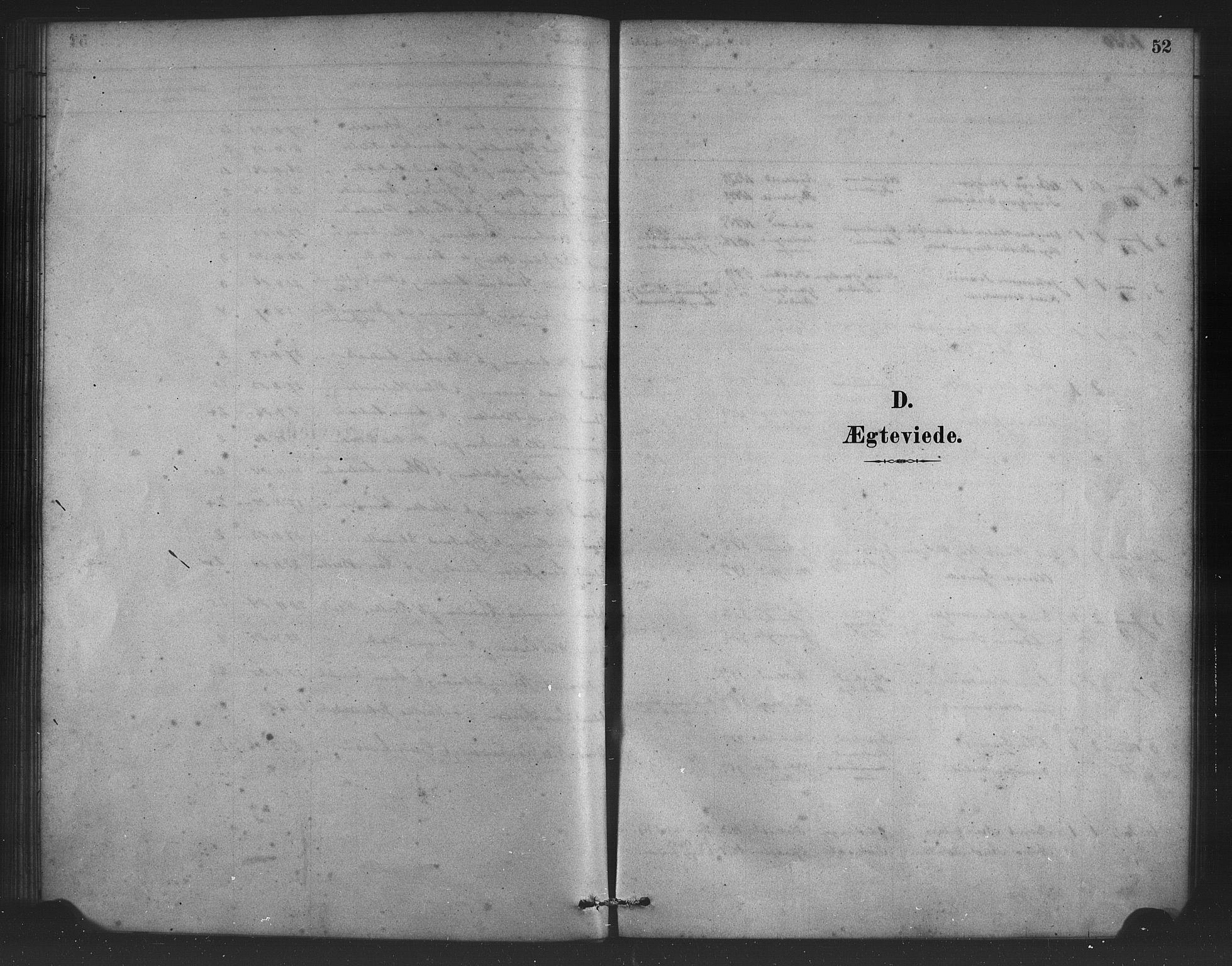 SAB, Alversund Sokneprestembete, H/Ha/Haa/Haad/L0001: Ministerialbok nr. D 1, 1880-1898, s. 52