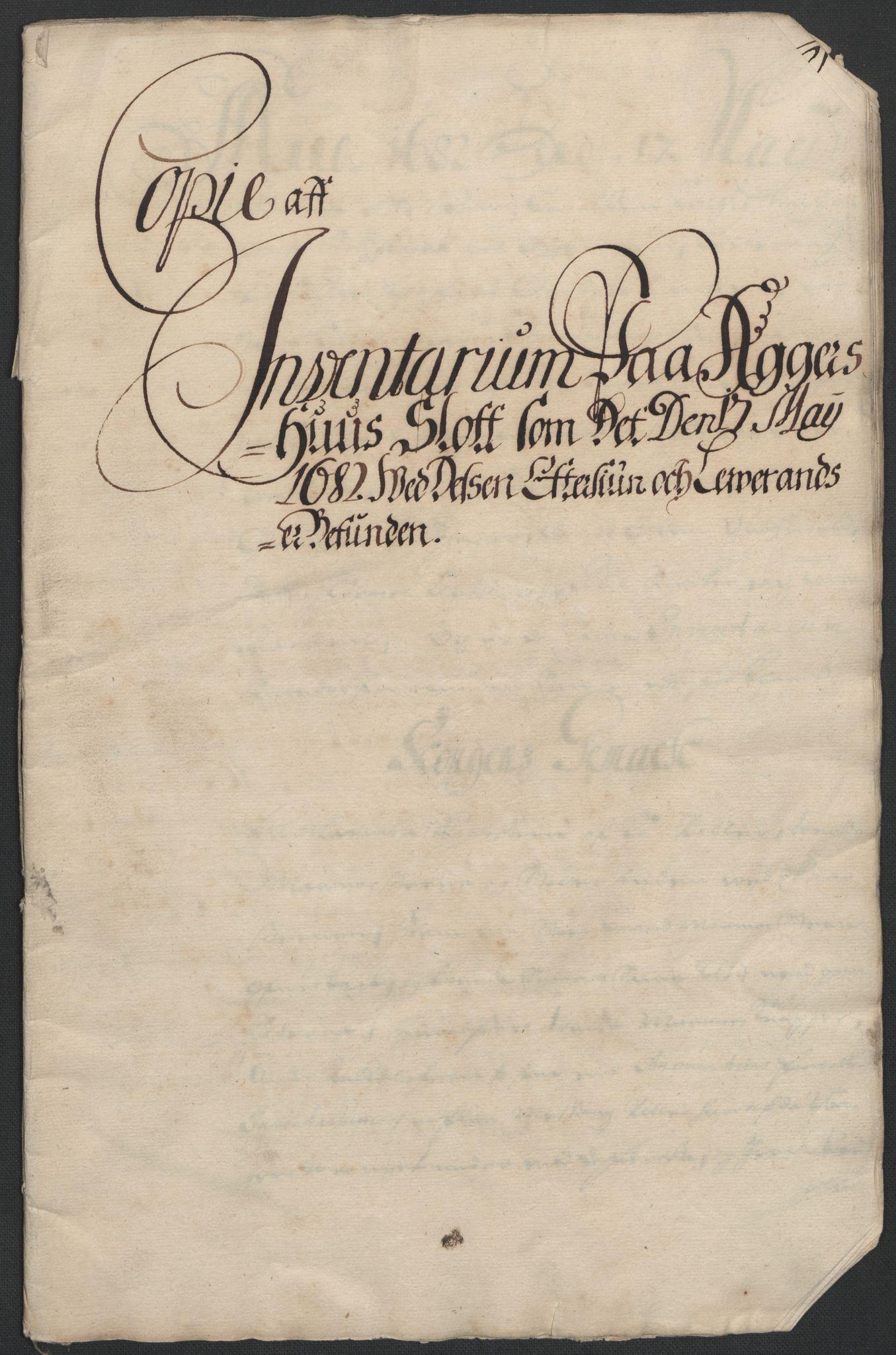 RA, Rentekammeret inntil 1814, Reviderte regnskaper, Fogderegnskap, R08/L0420: Fogderegnskap Aker, 1682-1691, s. 190