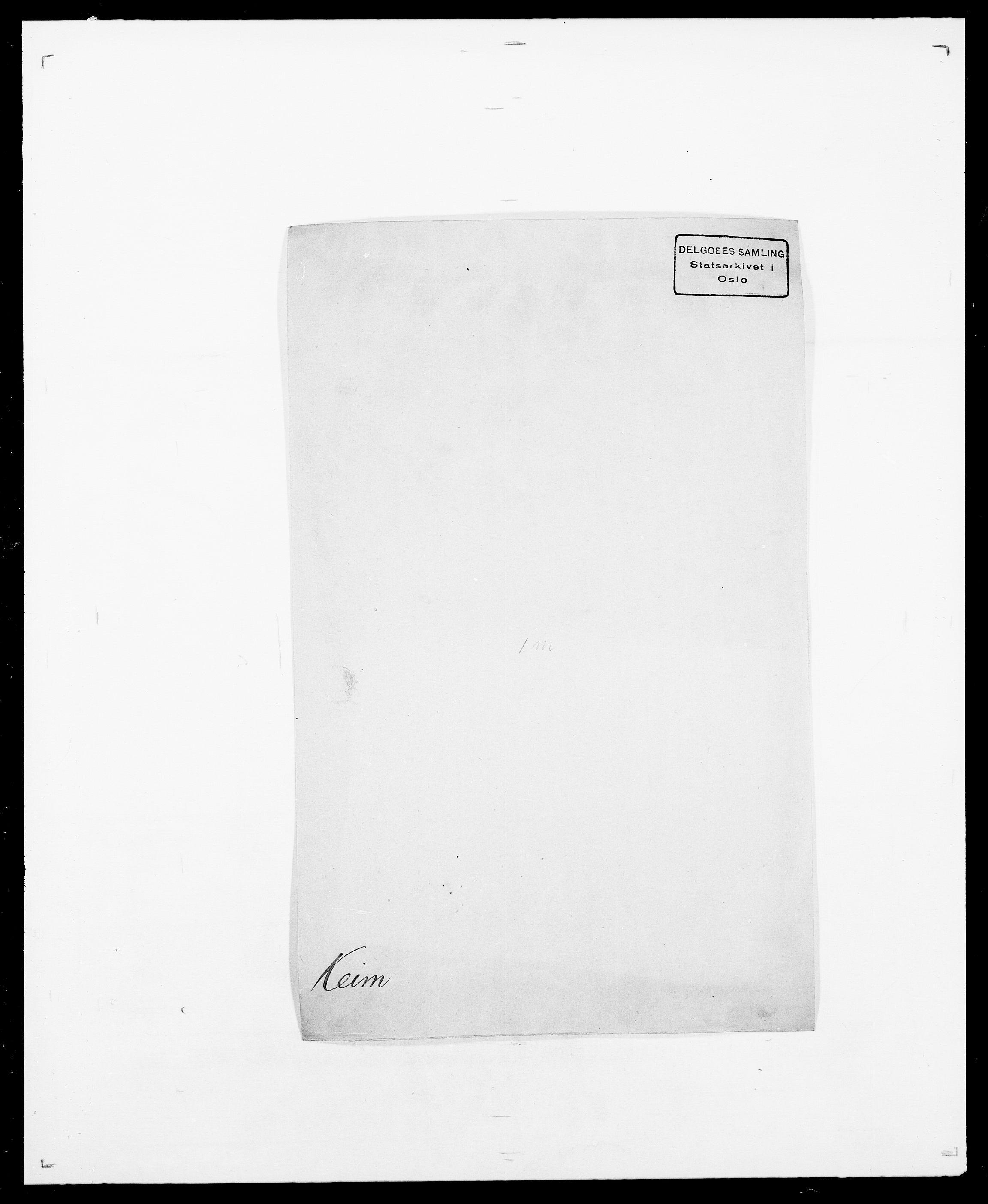 SAO, Delgobe, Charles Antoine - samling, D/Da/L0020: Irgens - Kjøsterud, s. 519