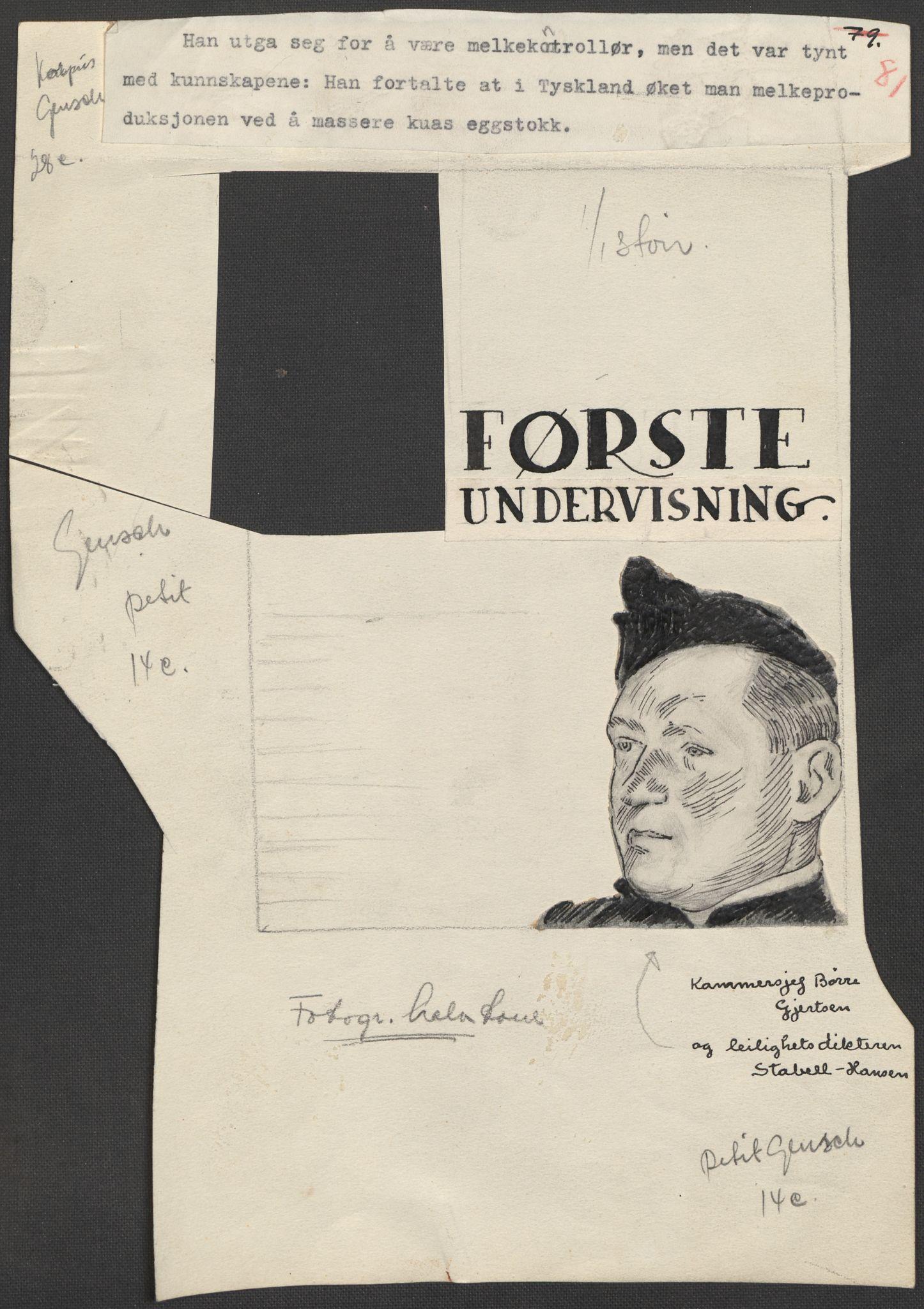 RA, Grøgaard, Joachim, F/L0002: Tegninger og tekster, 1942-1945, s. 89