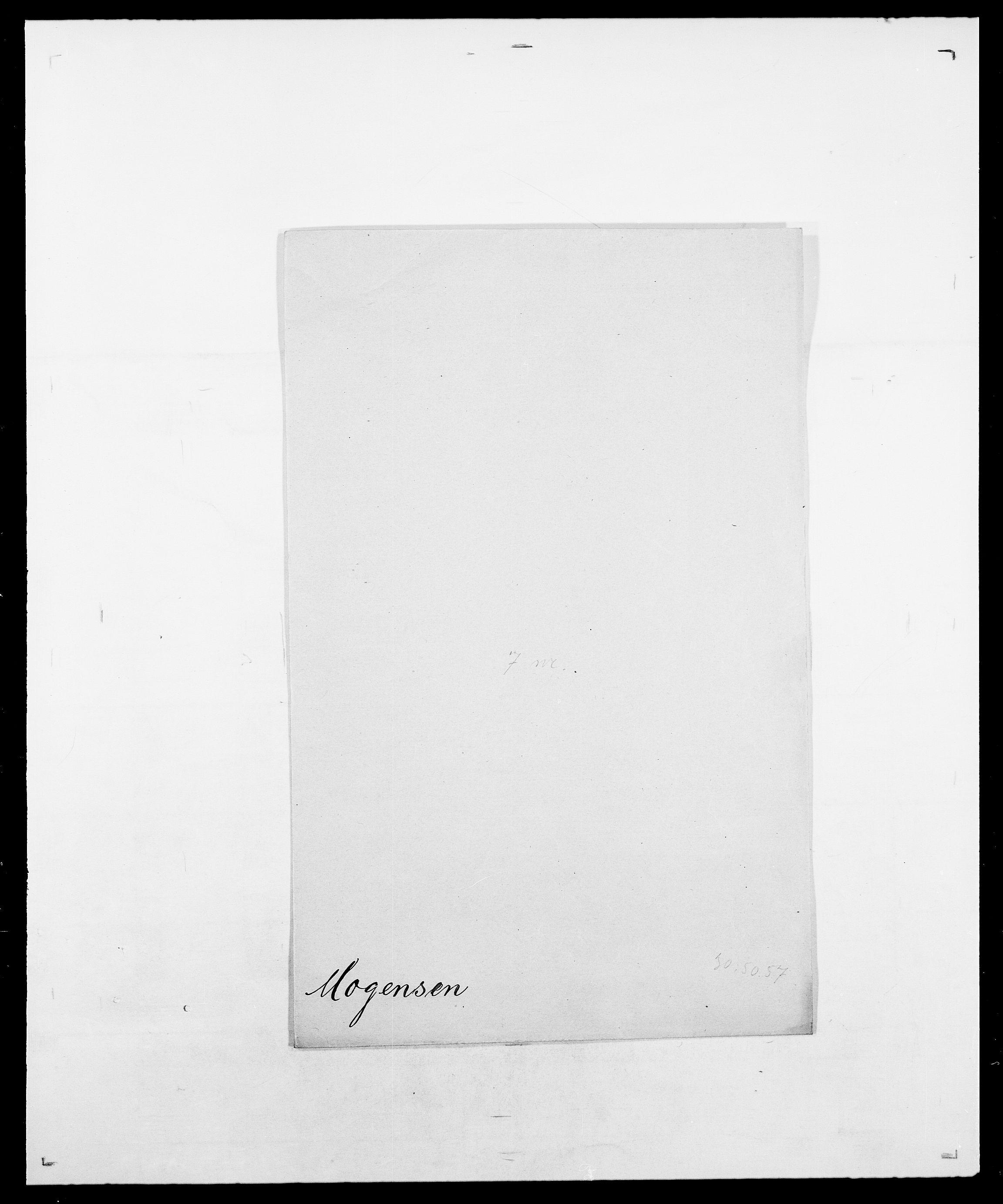 SAO, Delgobe, Charles Antoine - samling, D/Da/L0026: Mechelby - Montoppidan, s. 668