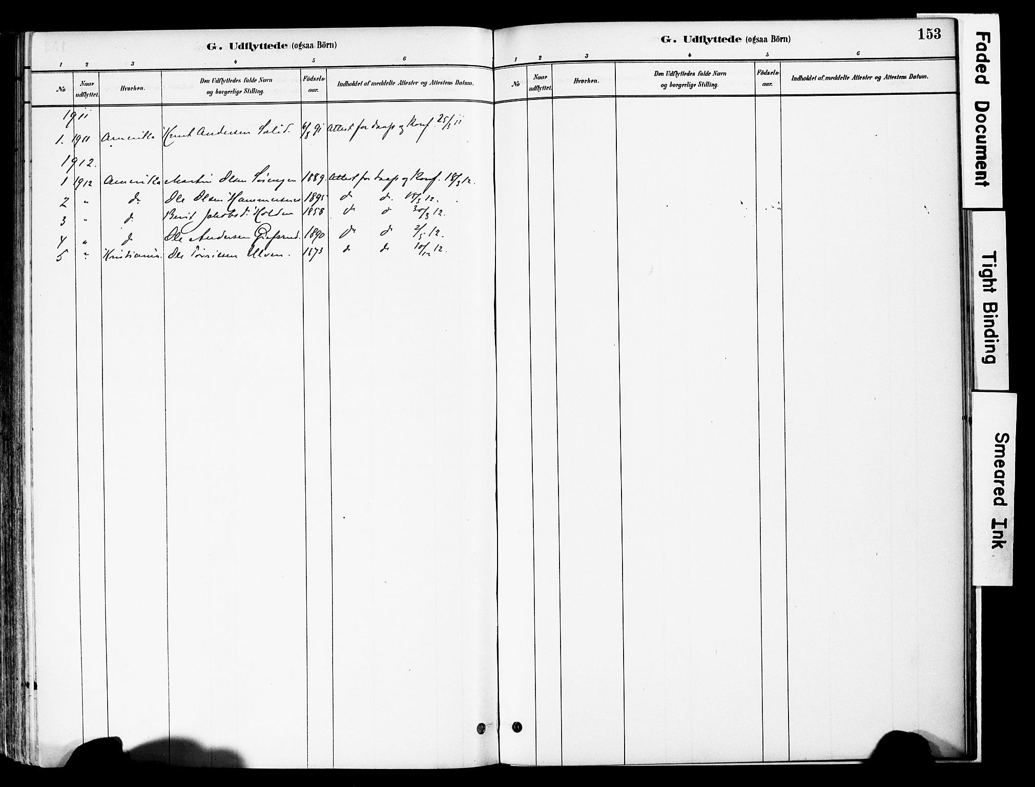 SAH, Vestre Slidre prestekontor, Ministerialbok nr. 6, 1881-1912, s. 153
