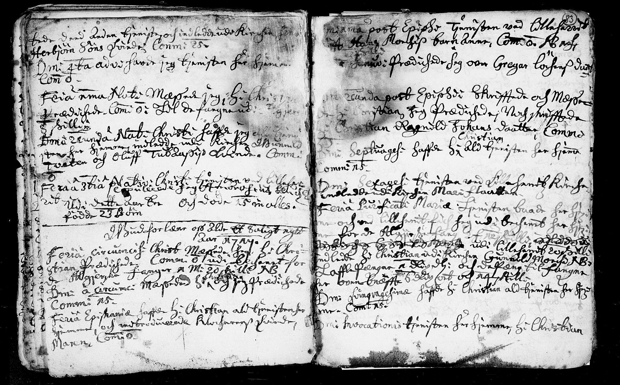 SAKO, Heddal kirkebøker, F/Fa/L0002: Ministerialbok nr. I 2, 1699-1722, s. 83