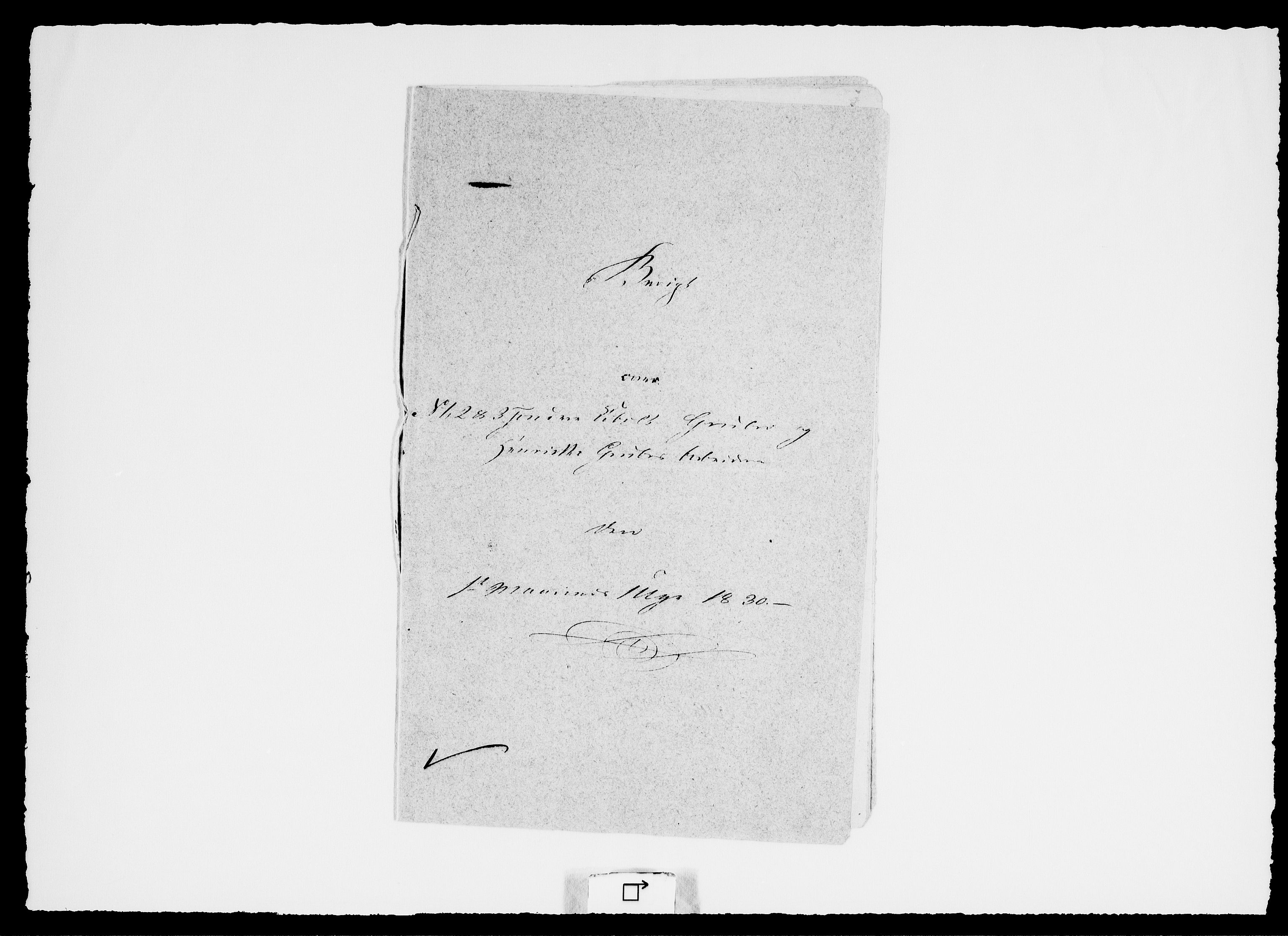 RA, Modums Blaafarveværk, G/Ge/L0334, 1830, s. 2