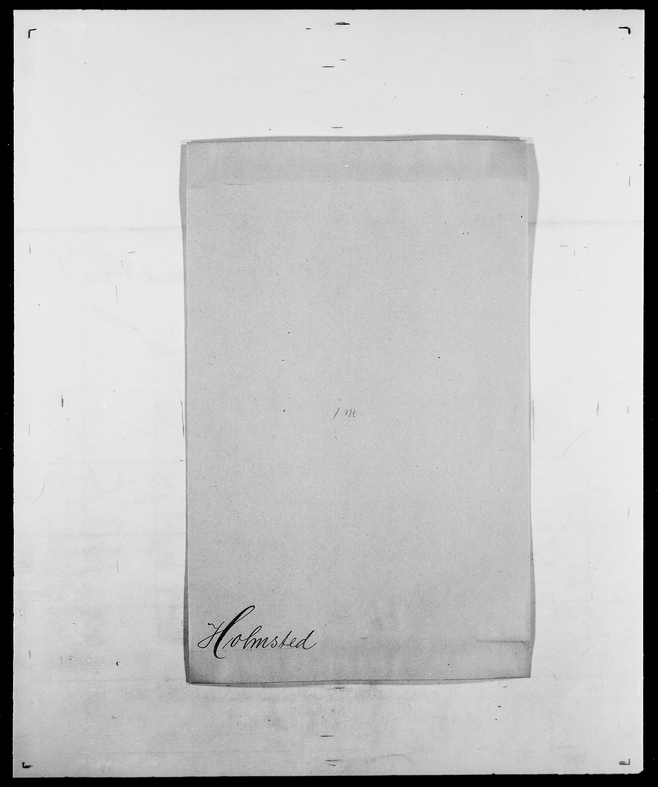 SAO, Delgobe, Charles Antoine - samling, D/Da/L0018: Hoch - Howert, s. 669