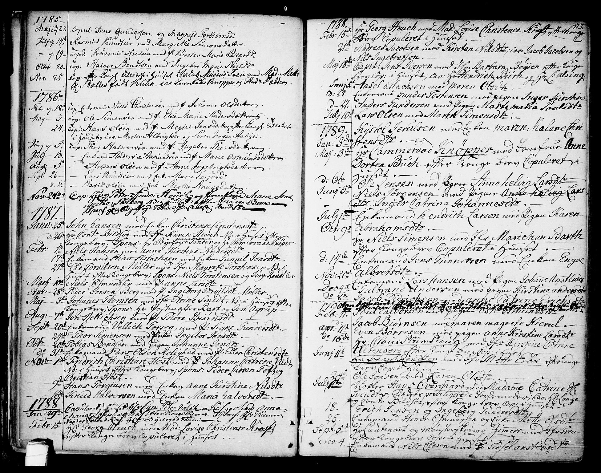 SAKO, Kragerø kirkebøker, F/Fa/L0002: Ministerialbok nr. 2, 1767-1802, s. 22