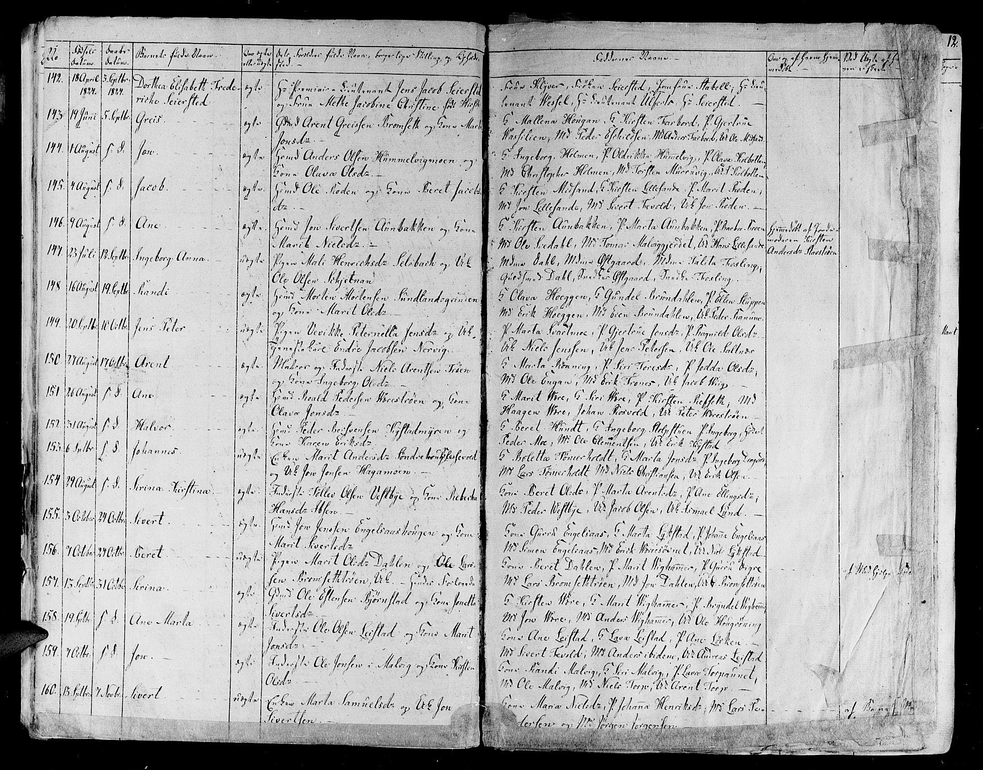 SAT, Ministerialprotokoller, klokkerbøker og fødselsregistre - Sør-Trøndelag, 606/L0286: Ministerialbok nr. 606A04 /1, 1823-1840, s. 9