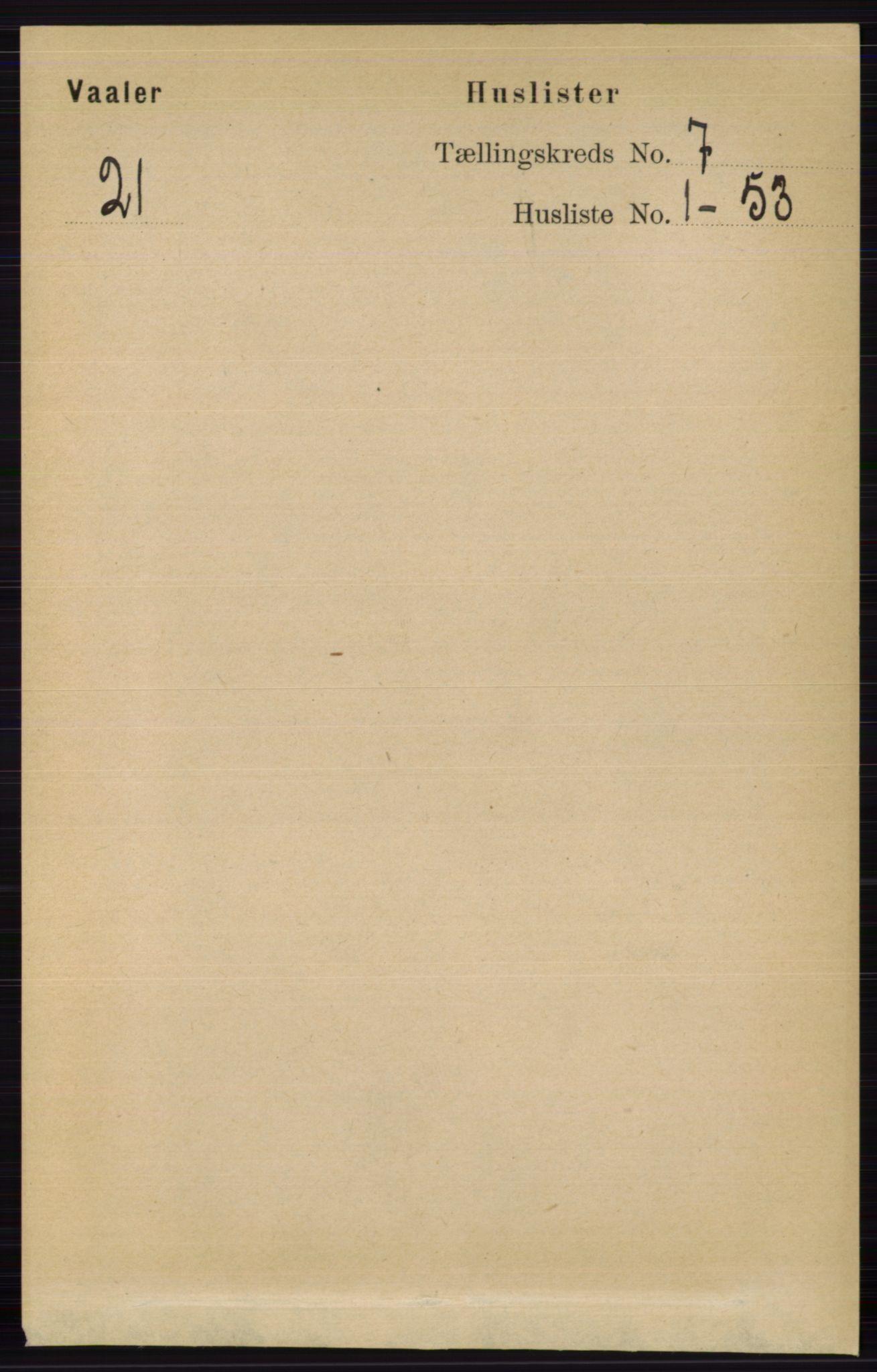 RA, Folketelling 1891 for 0426 Våler herred, 1891, s. 2867