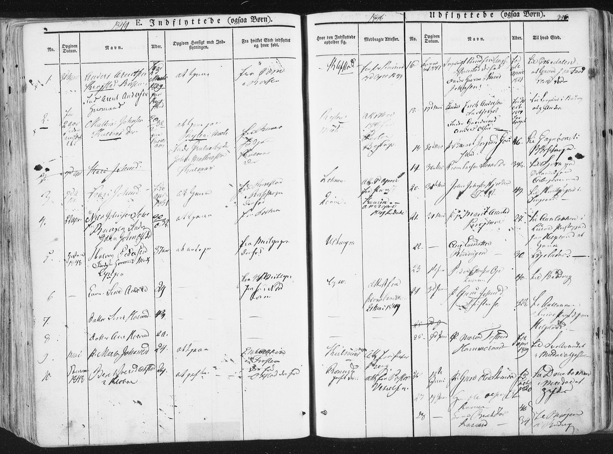 SAT, Ministerialprotokoller, klokkerbøker og fødselsregistre - Sør-Trøndelag, 691/L1074: Ministerialbok nr. 691A06, 1842-1852, s. 396