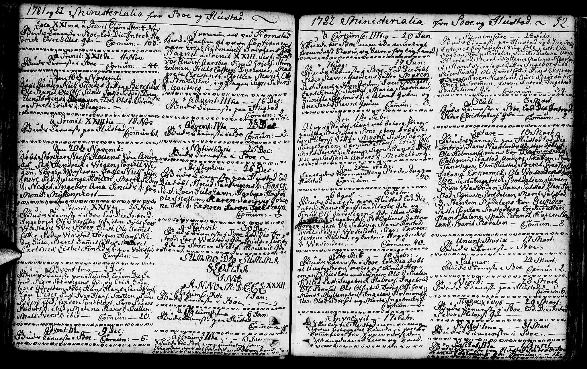 SAT, Ministerialprotokoller, klokkerbøker og fødselsregistre - Møre og Romsdal, 566/L0761: Ministerialbok nr. 566A02 /1, 1767-1817, s. 52