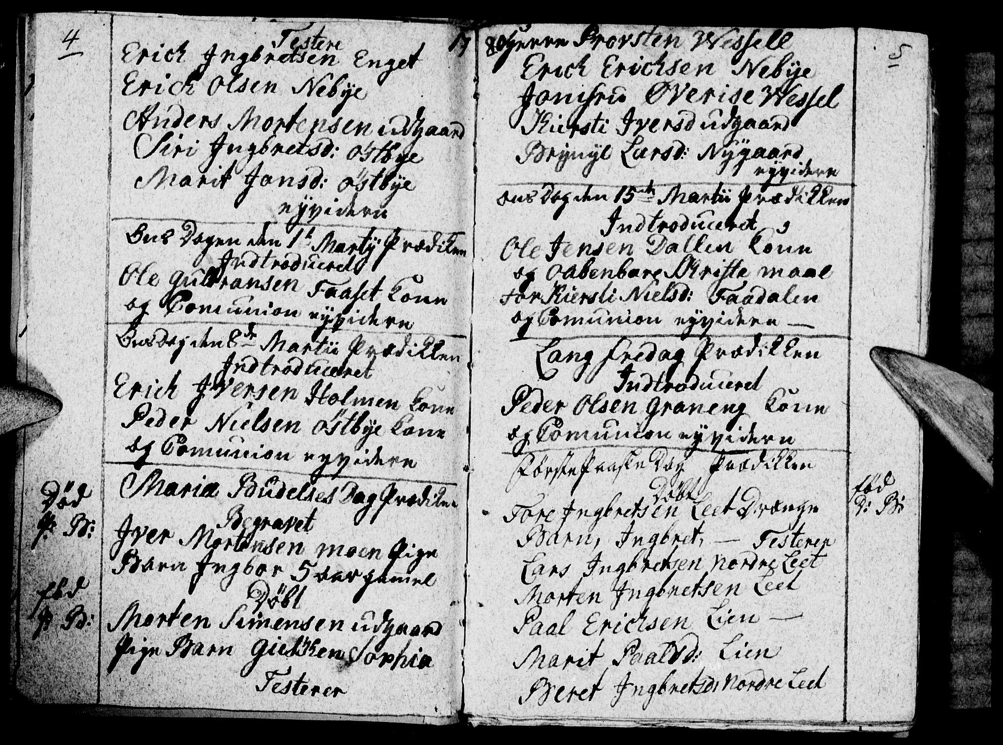 SAH, Tynset prestekontor, Ministerialbok nr. 12, 1780-1784, s. 4-5
