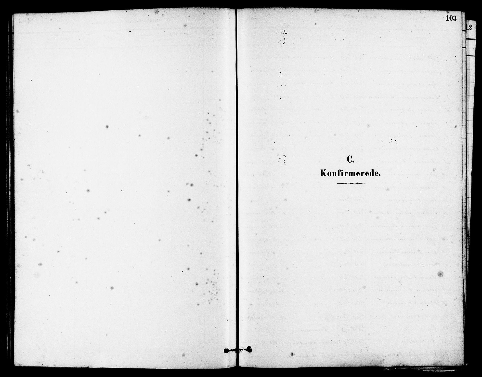 SAST, Egersund sokneprestkontor, S08/L0015: Ministerialbok nr. A 15, 1879-1892, s. 103