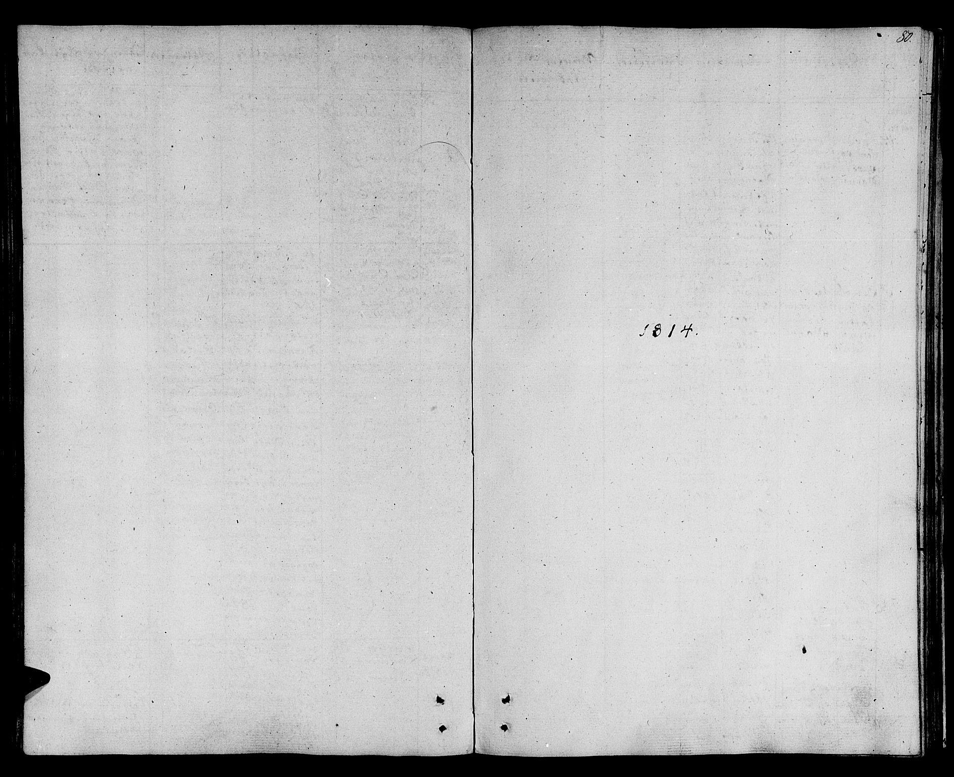 SAT, Ministerialprotokoller, klokkerbøker og fødselsregistre - Sør-Trøndelag, 678/L0894: Ministerialbok nr. 678A04, 1806-1815, s. 80