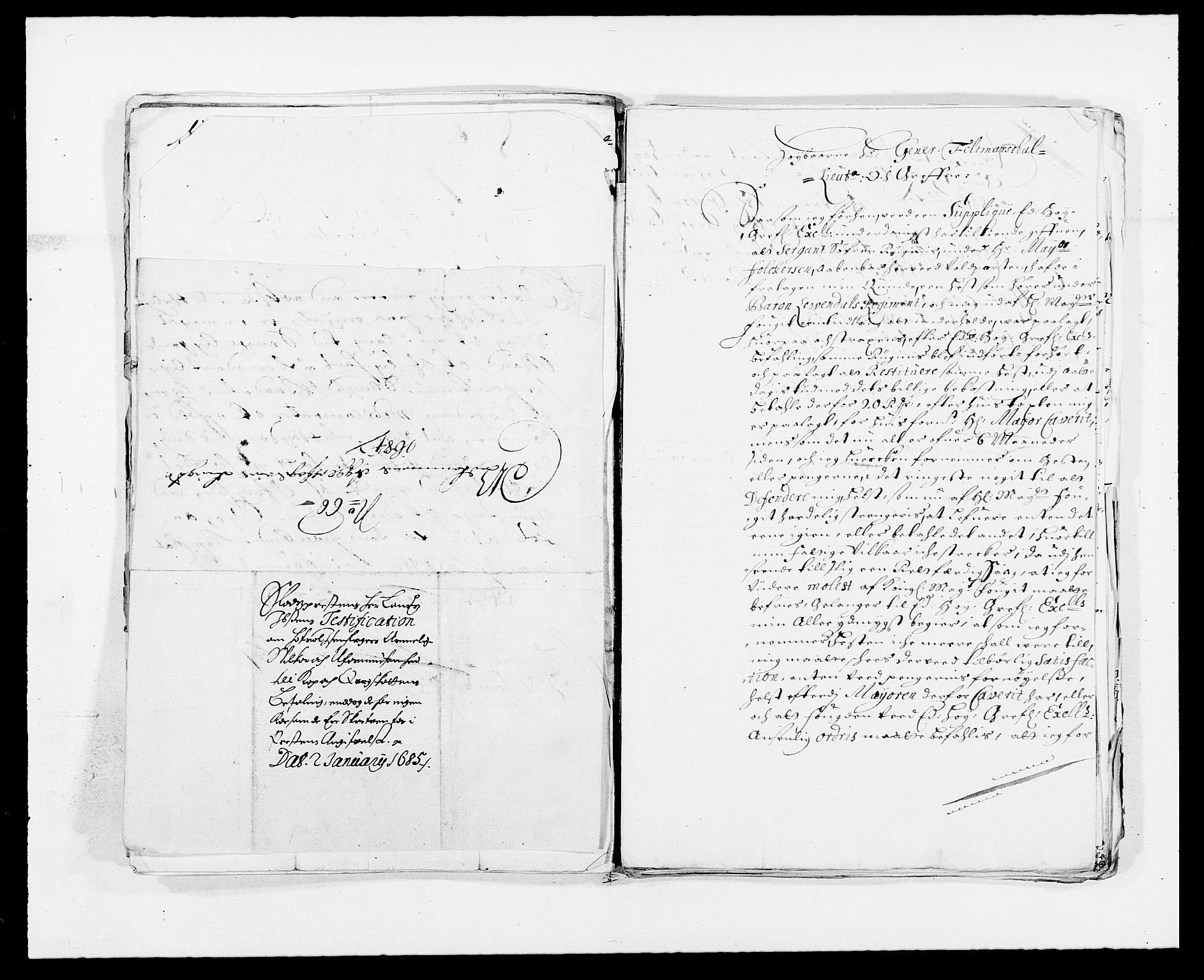 RA, Rentekammeret inntil 1814, Reviderte regnskaper, Fogderegnskap, R08/L0424: Fogderegnskap Aker, 1682-1689, s. 123